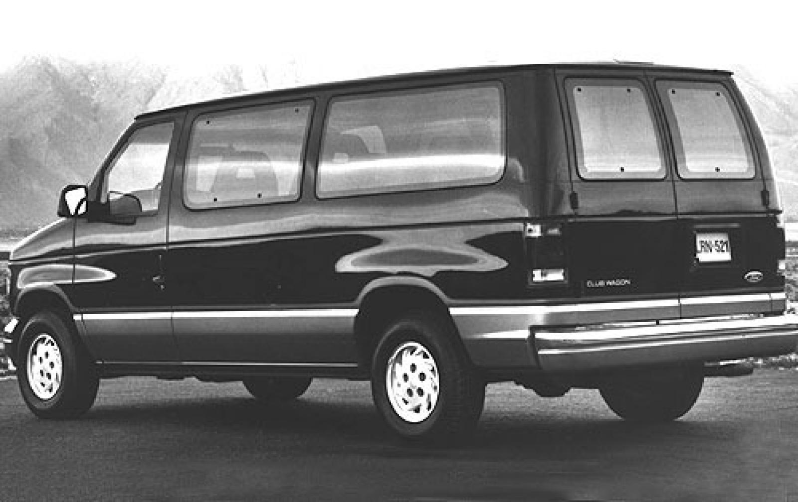 1990 ford e 250 information and photos zombiedrive. Black Bedroom Furniture Sets. Home Design Ideas