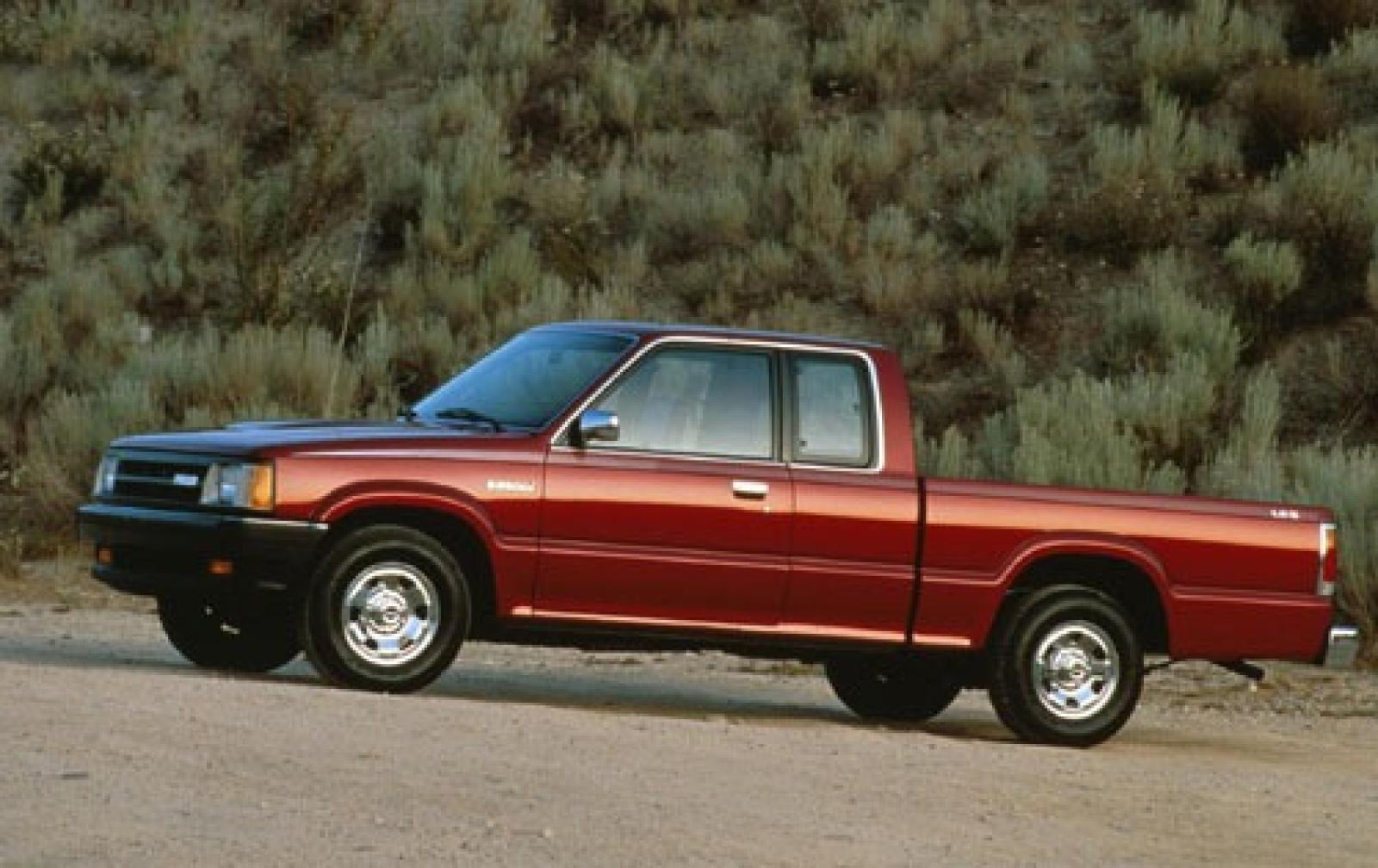 1993 Mazda B Series Pickup Information And Photos Zombiedrive 1988 B2600 Wiring Diagram Gallery