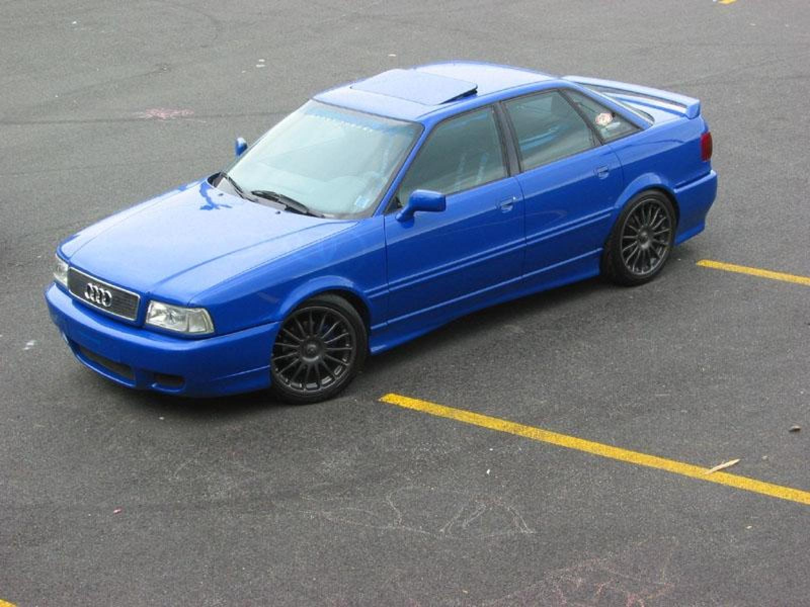 1993 Audi 90 - Information and photos - ZombieDrive