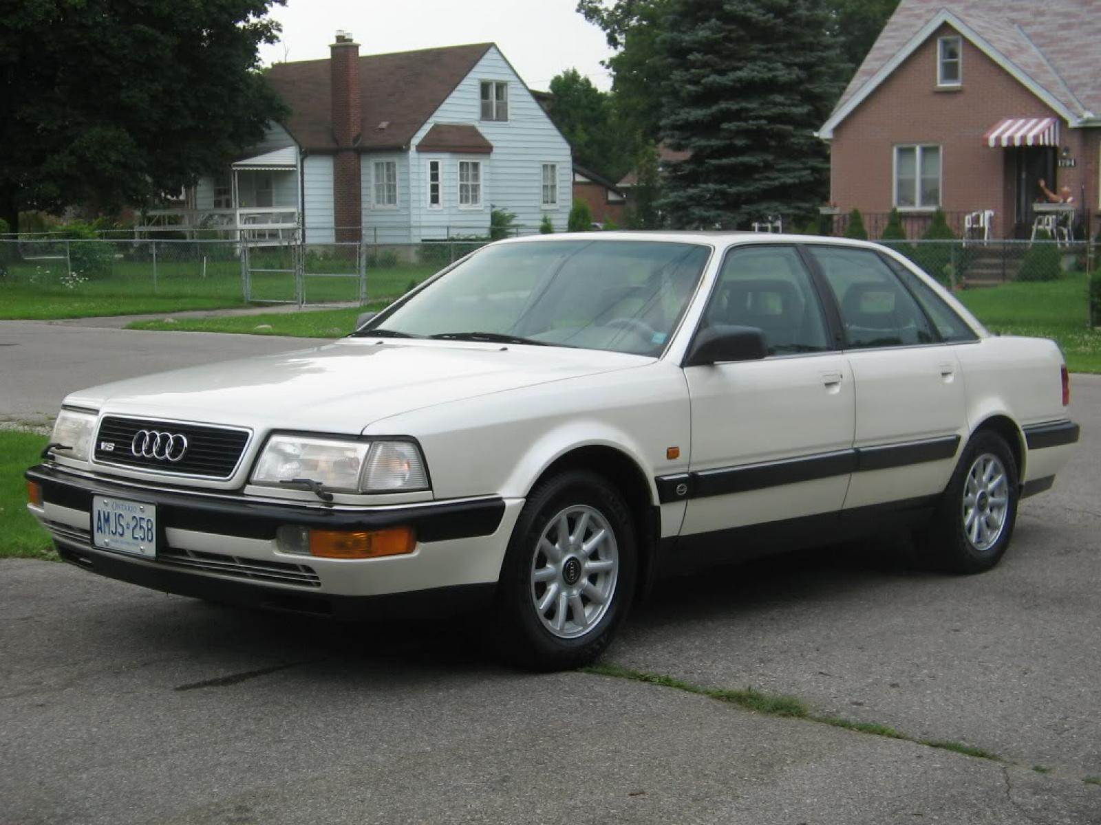 1993 audi v8 information and photos zombiedrive. Black Bedroom Furniture Sets. Home Design Ideas