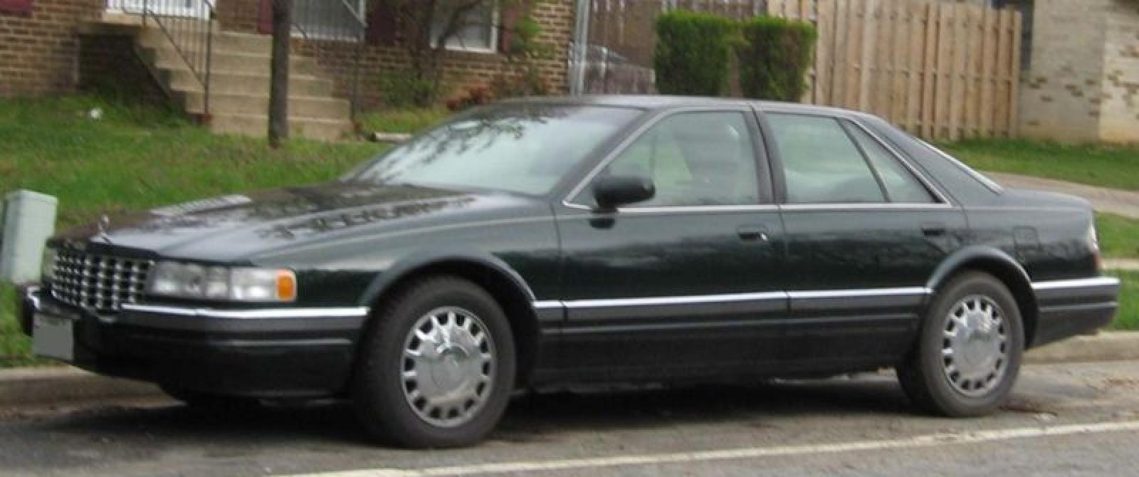 1993 Cadillac Seville - Information and photos - ZombieDrive