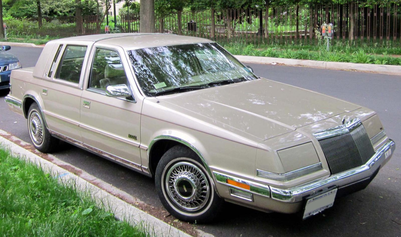 1993 Chrysler Imperial Information And Photos Zombiedrive