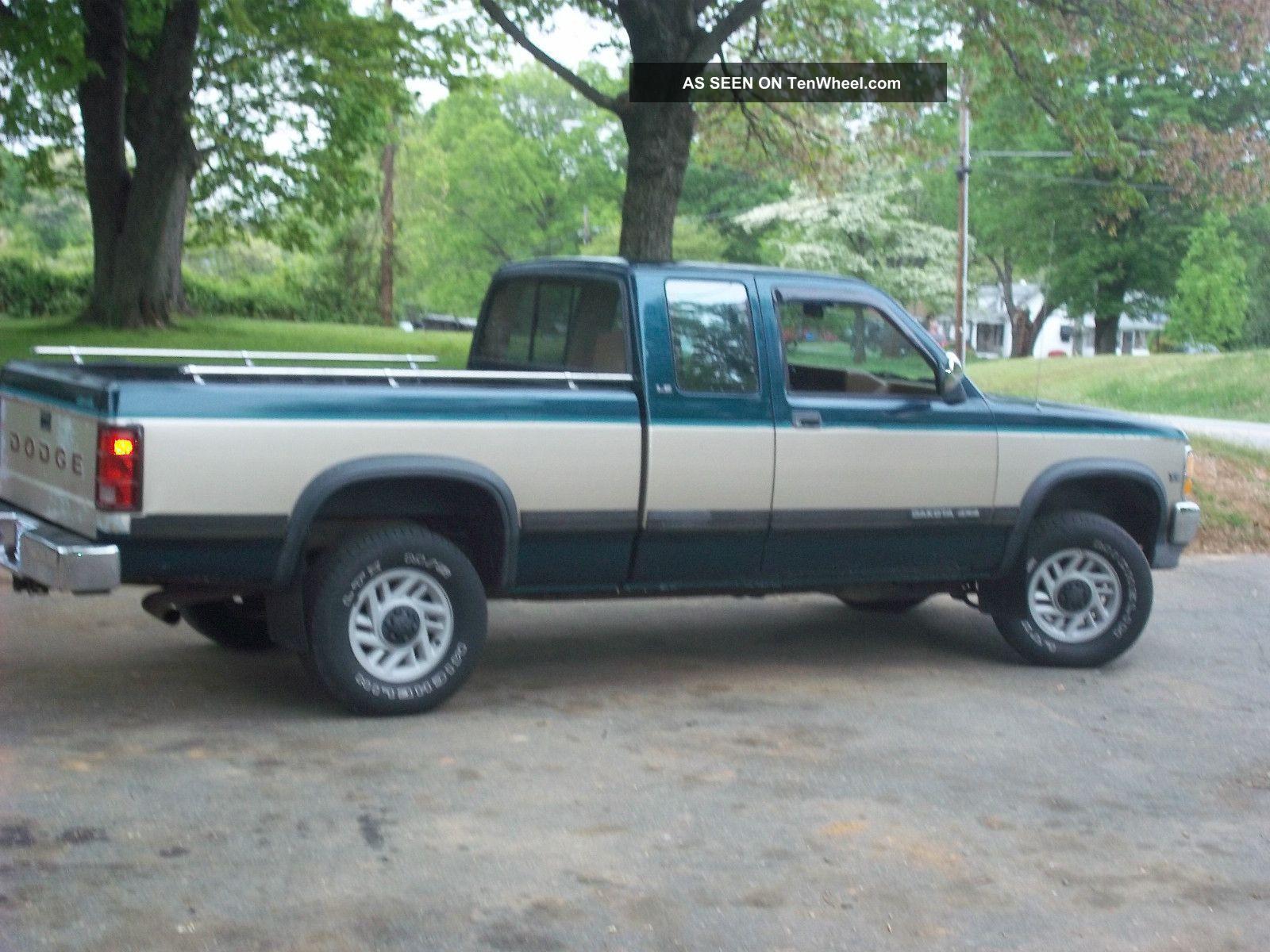 Dodge Dakota on 1990 Dodge Dakota Truck