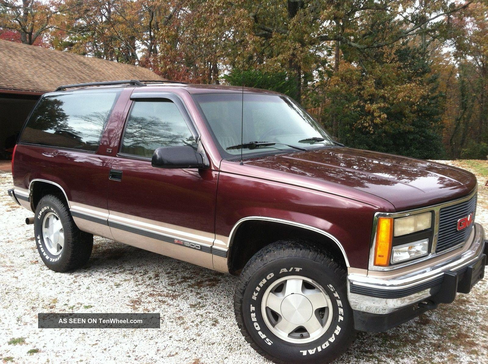 1993 gmc yukon information and photos zombiedrive. Black Bedroom Furniture Sets. Home Design Ideas