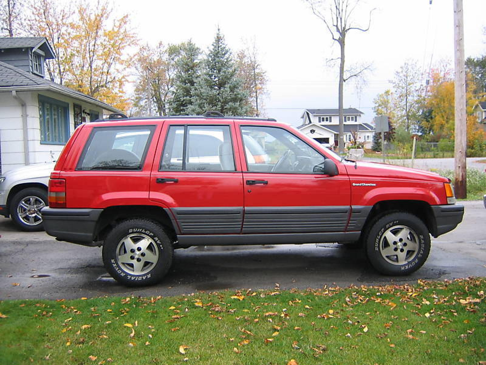 1993 jeep grand cherokee - information and photos - zombiedrive