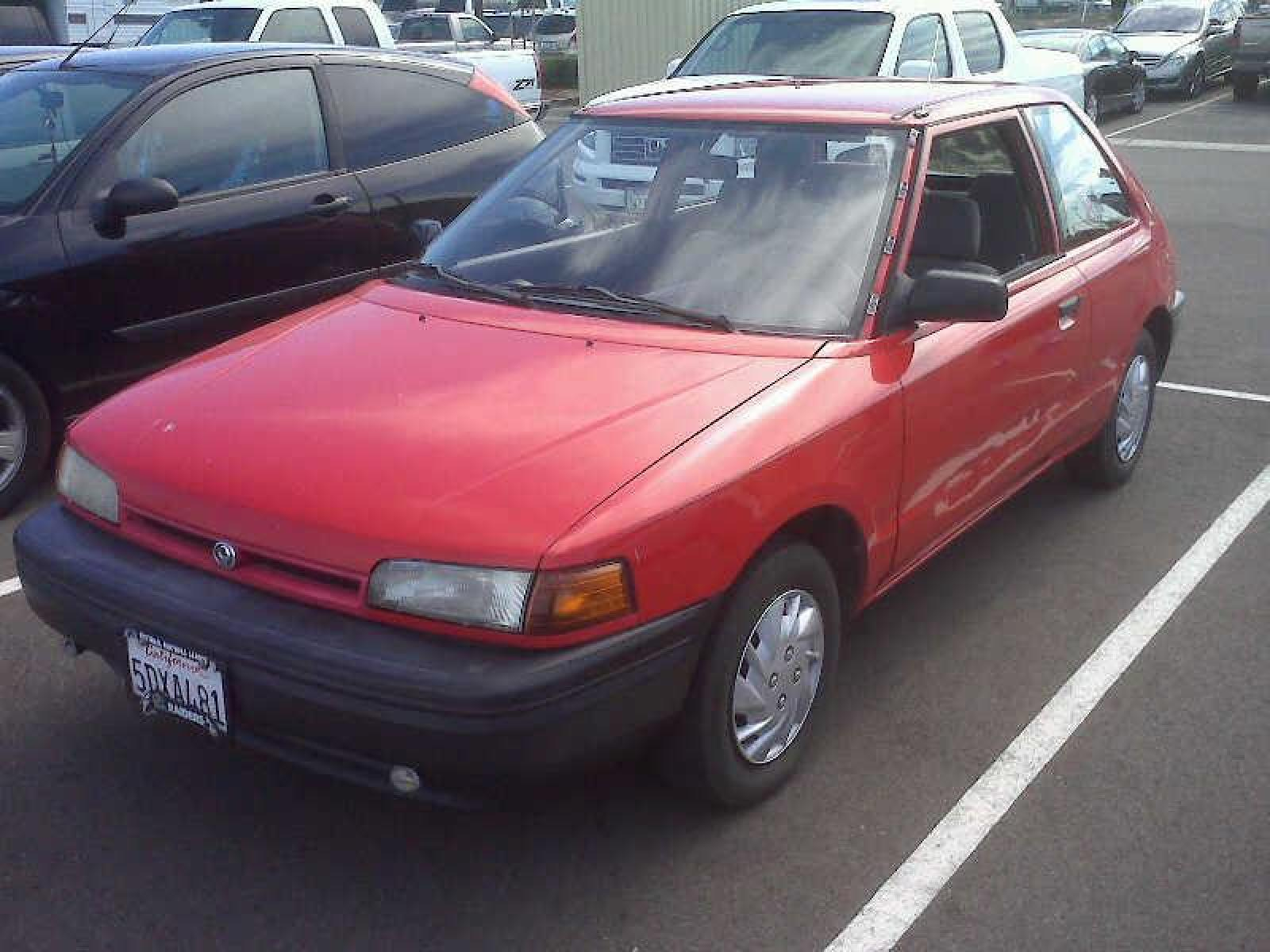 1993 Mazda 323 - Information and photos - ZombieDrive