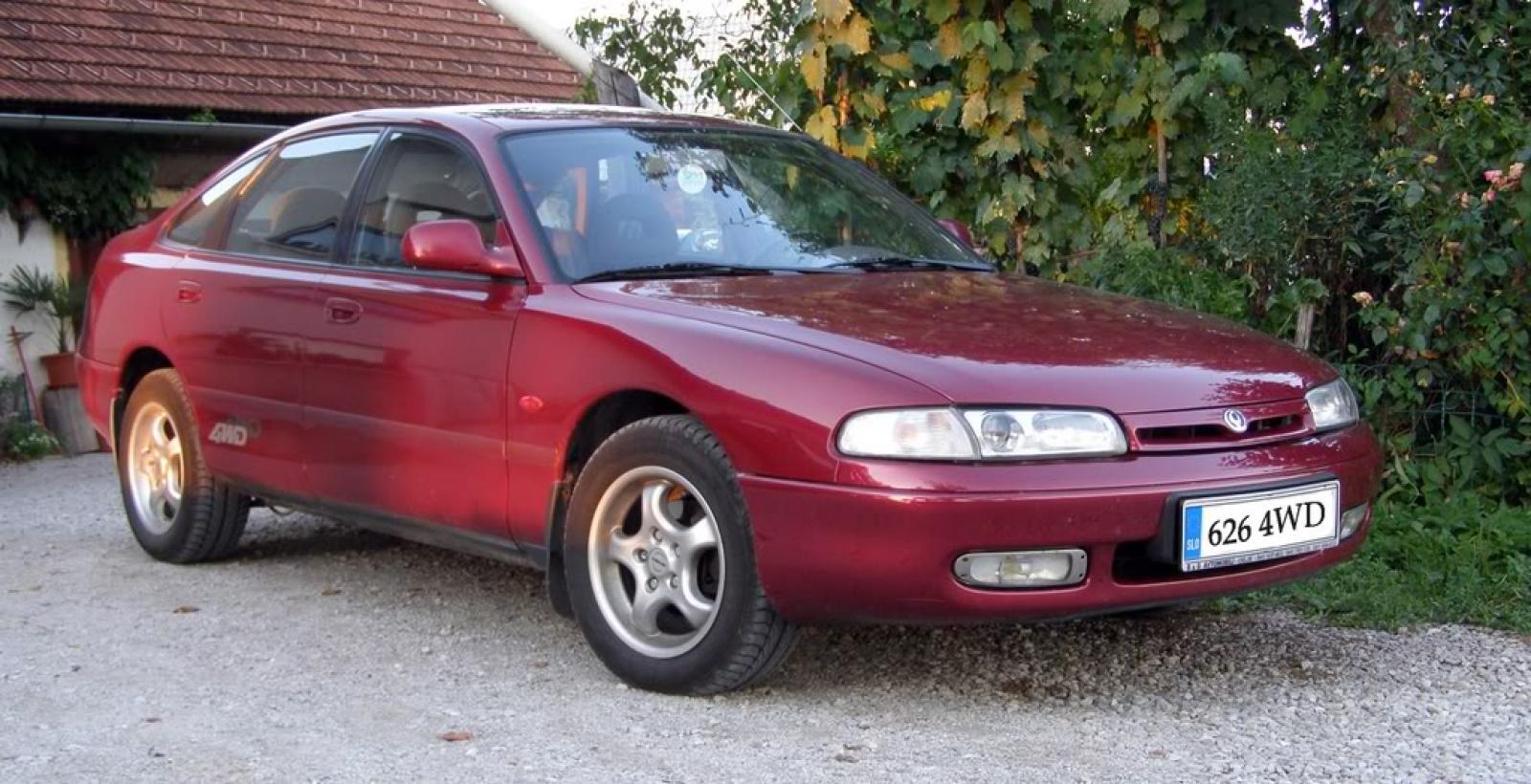 1993 Mazda 626 - Information and photos - ZombieDrive
