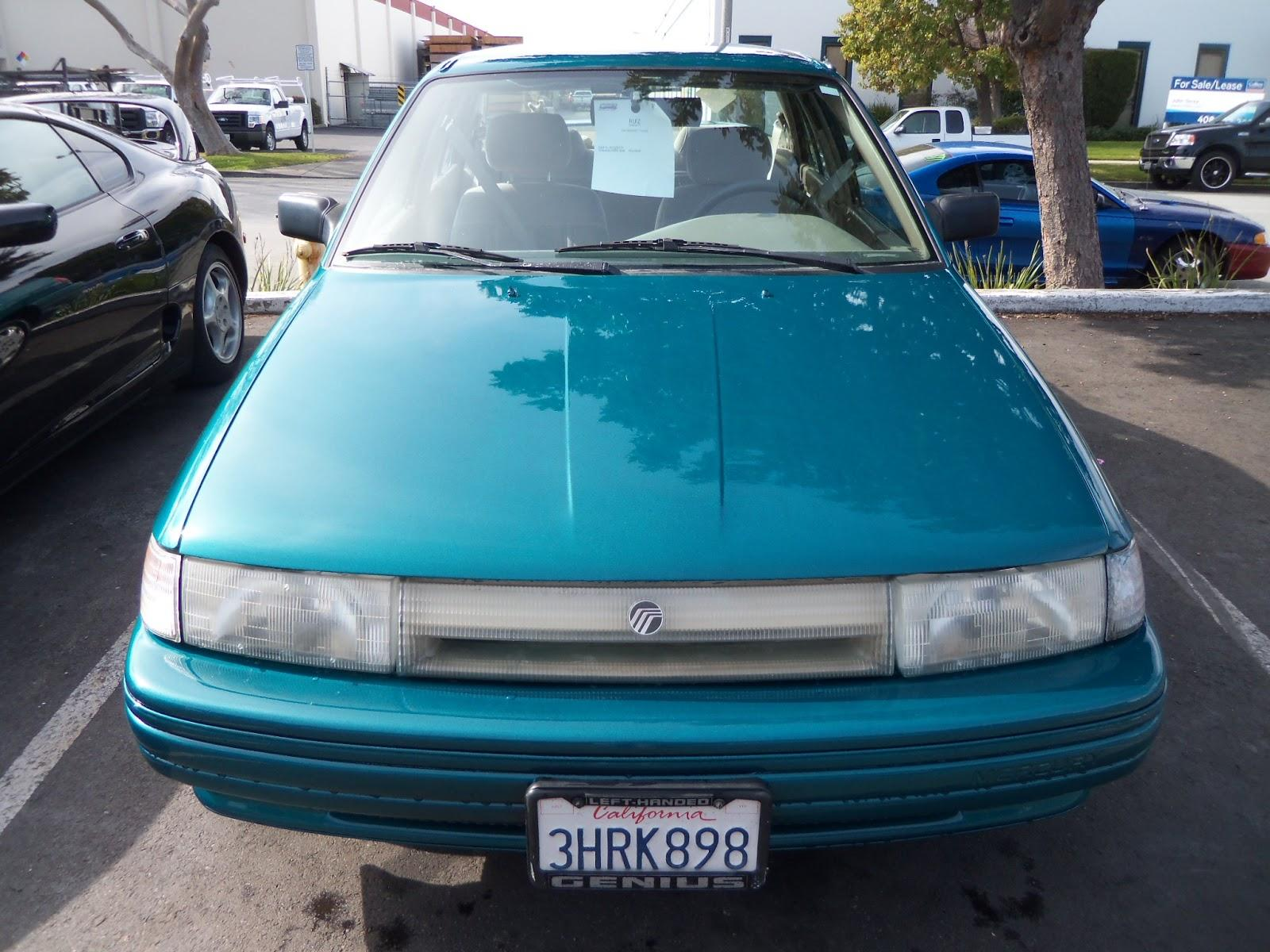 1993 Mercury Tracer - Information And Photos