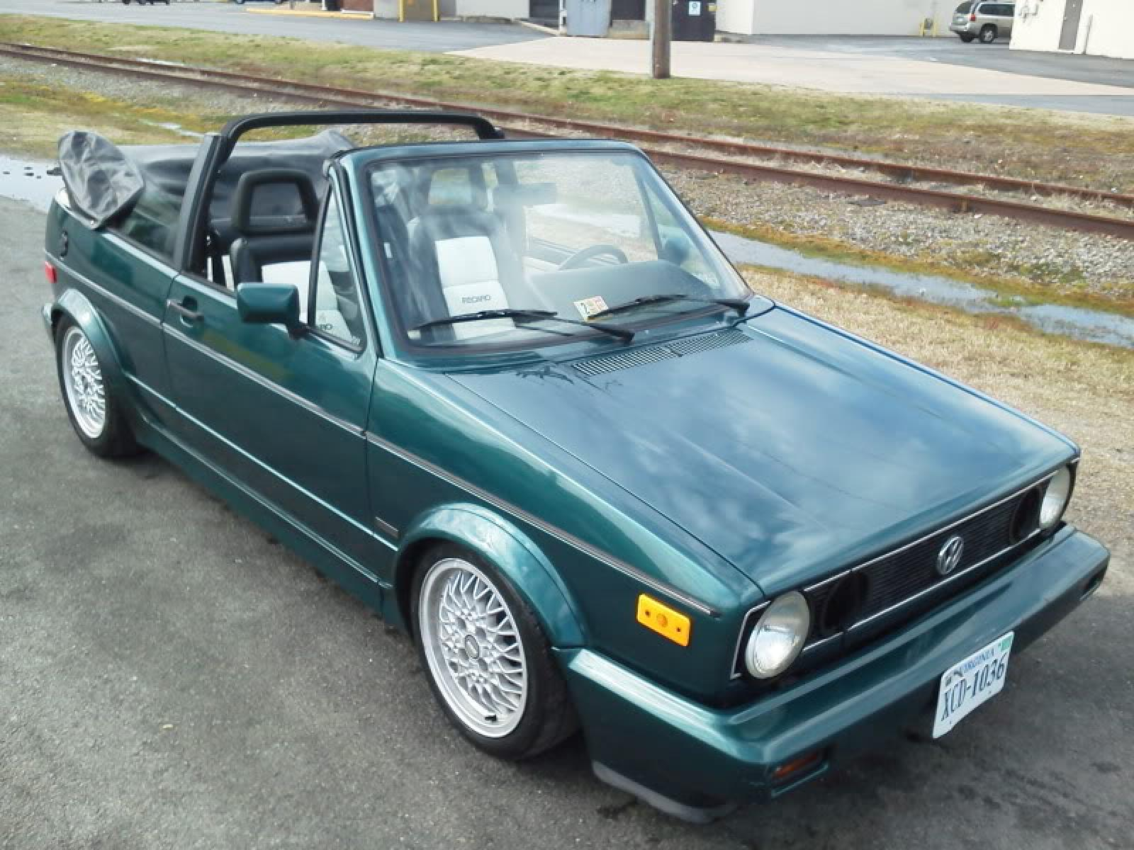 1993 Volkswagen Cabriolet - Information and photos - ZombieDrive