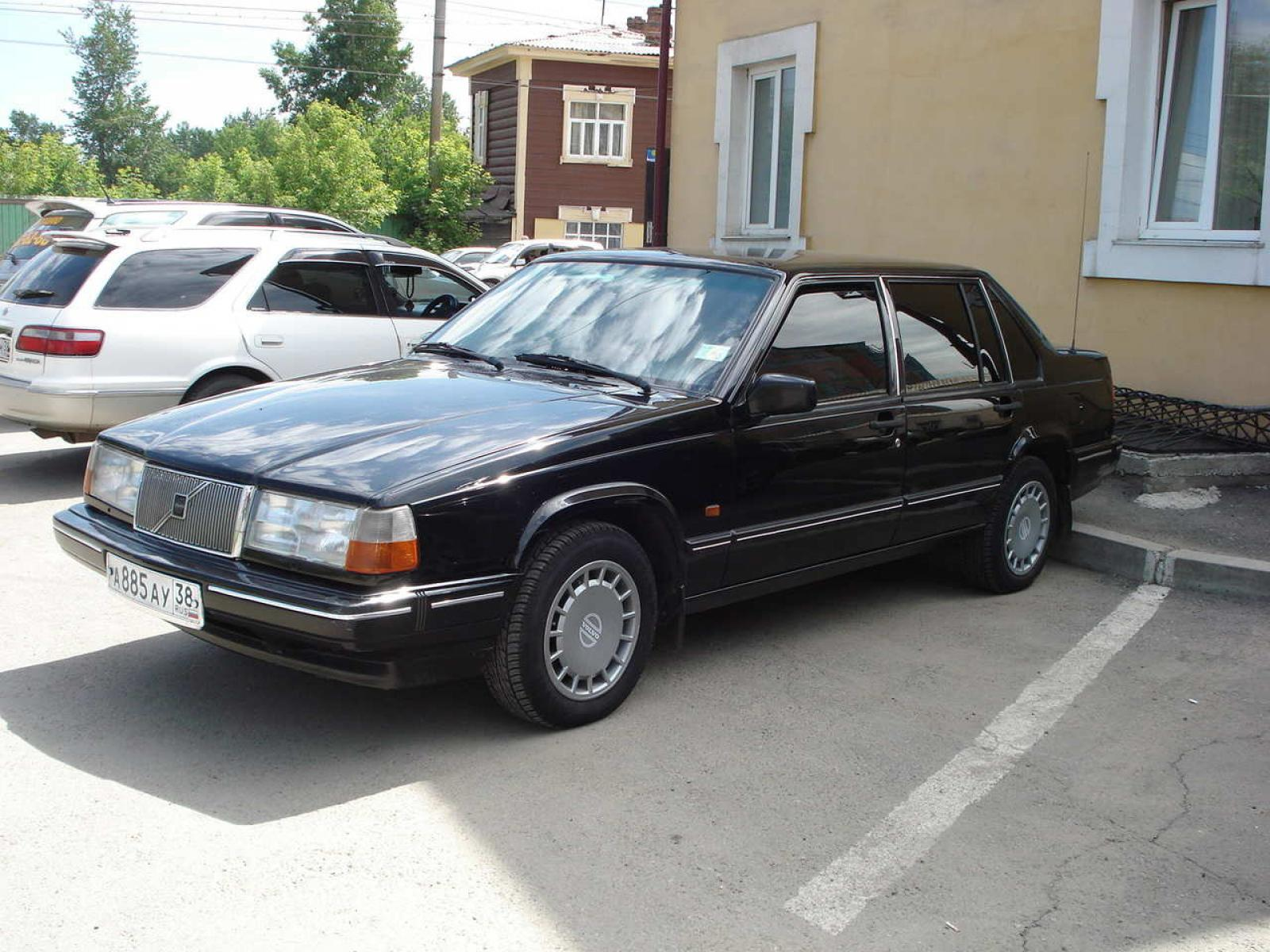 1993 volvo 960 information and photos zombiedrive. Black Bedroom Furniture Sets. Home Design Ideas