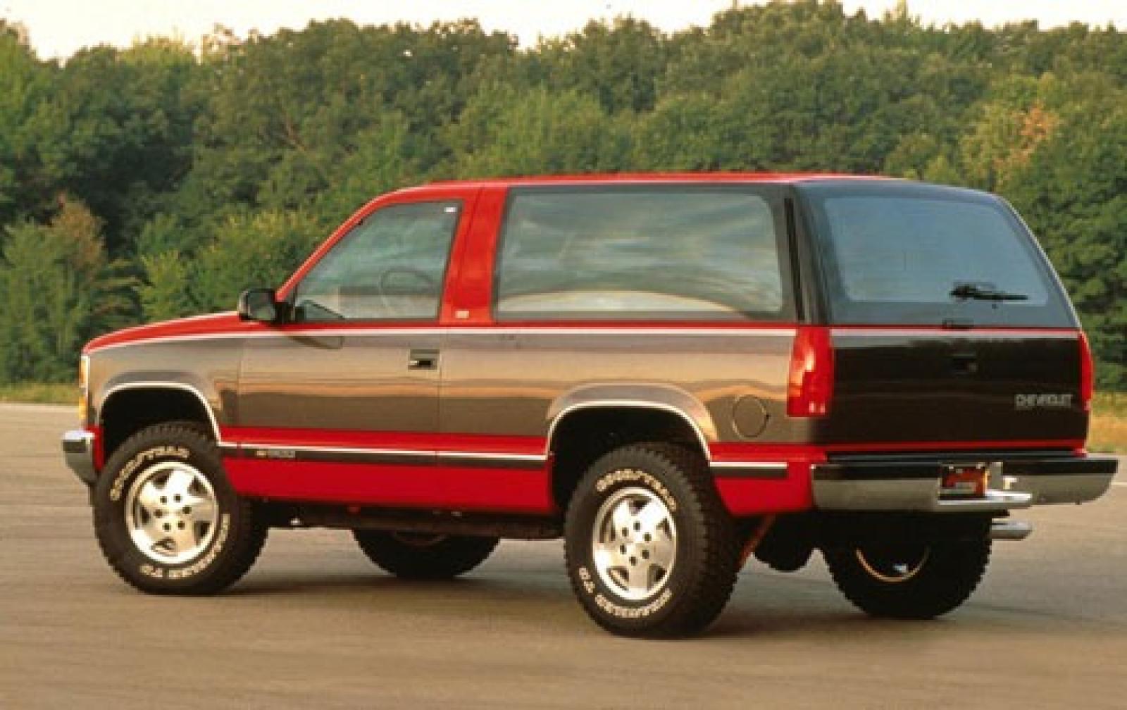 1993 Chevrolet Blazer Information And Photos Zombiedrive