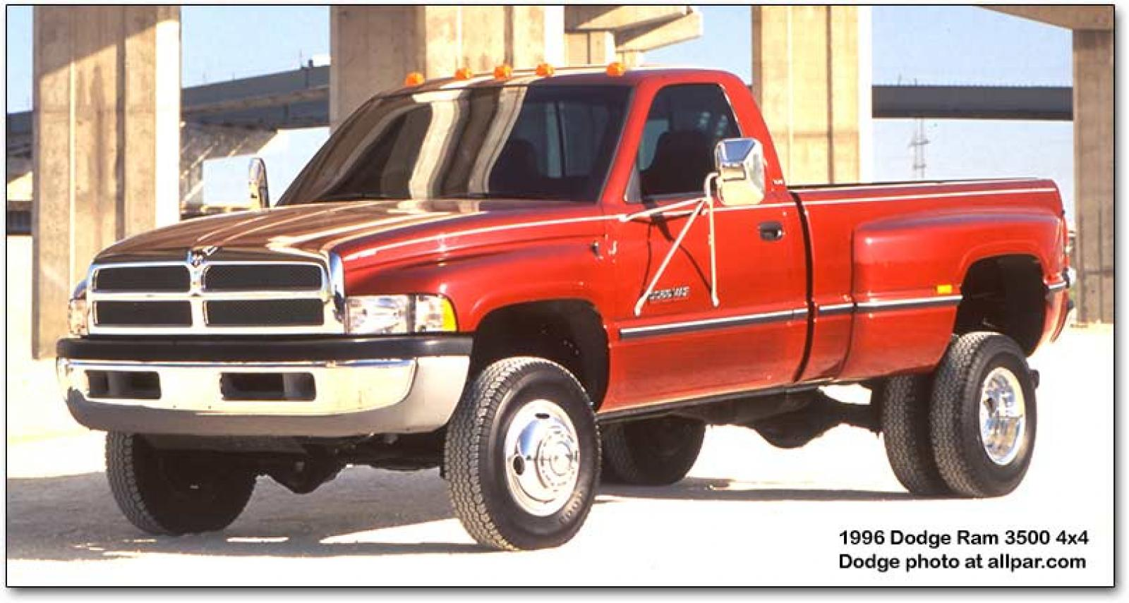 1994 Dodge Ram Pickup 2500 - Information and photos - ZombieDrive