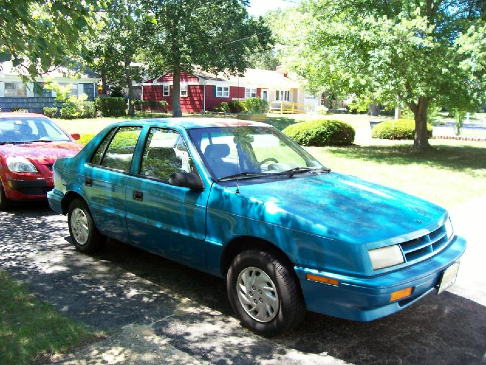 1994 Dodge Shadow Information And Photos Zombiedrive