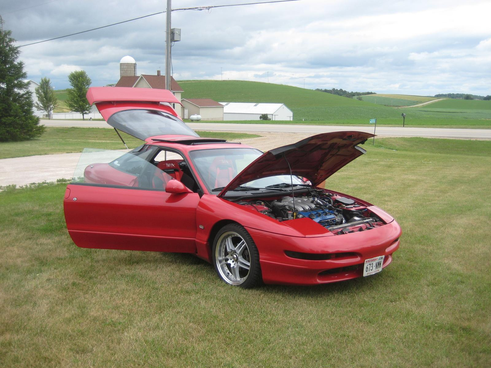 1994 ford probe information and photos zombiedrive. Black Bedroom Furniture Sets. Home Design Ideas