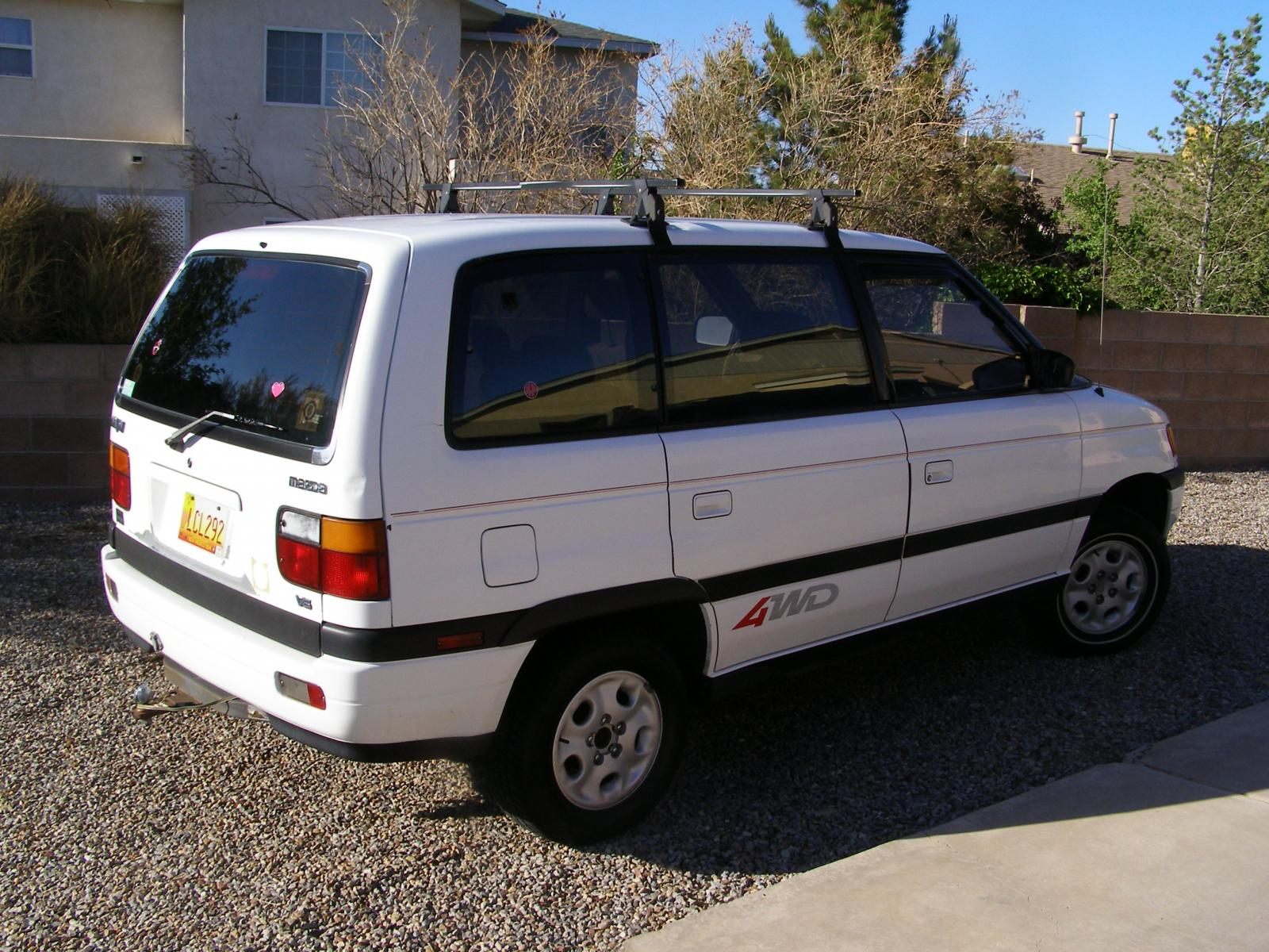 1994 Mazda Mpv - Information And Photos