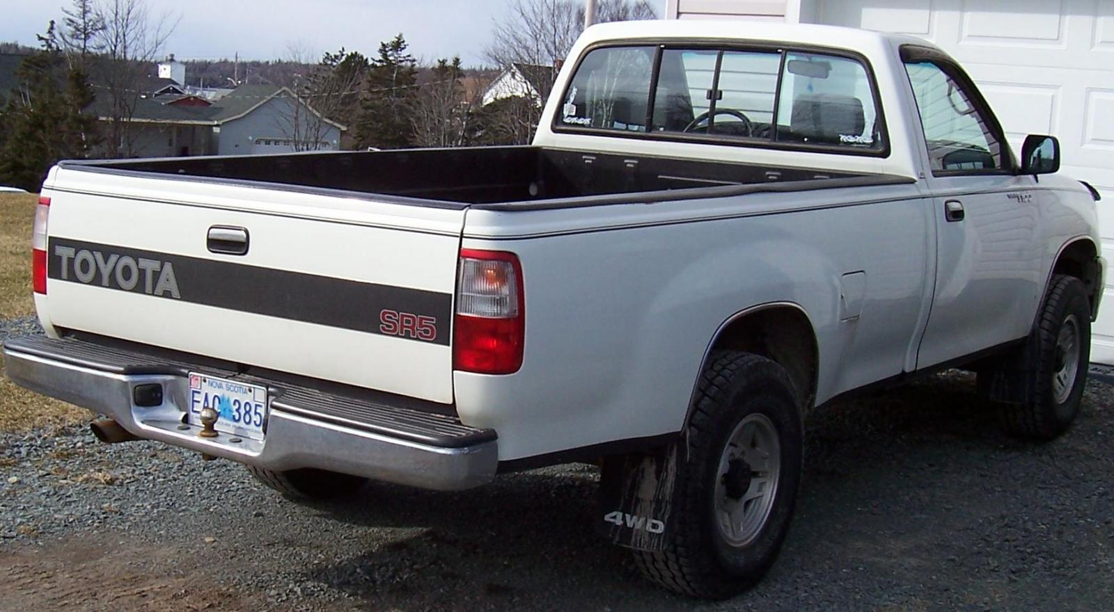 1994 Toyota T100 Information And Photos Zombiedrive