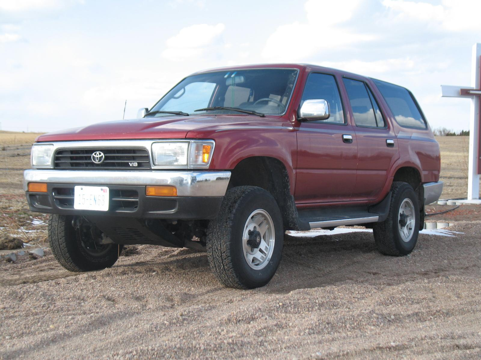 1994 toyota t100 - information and photos