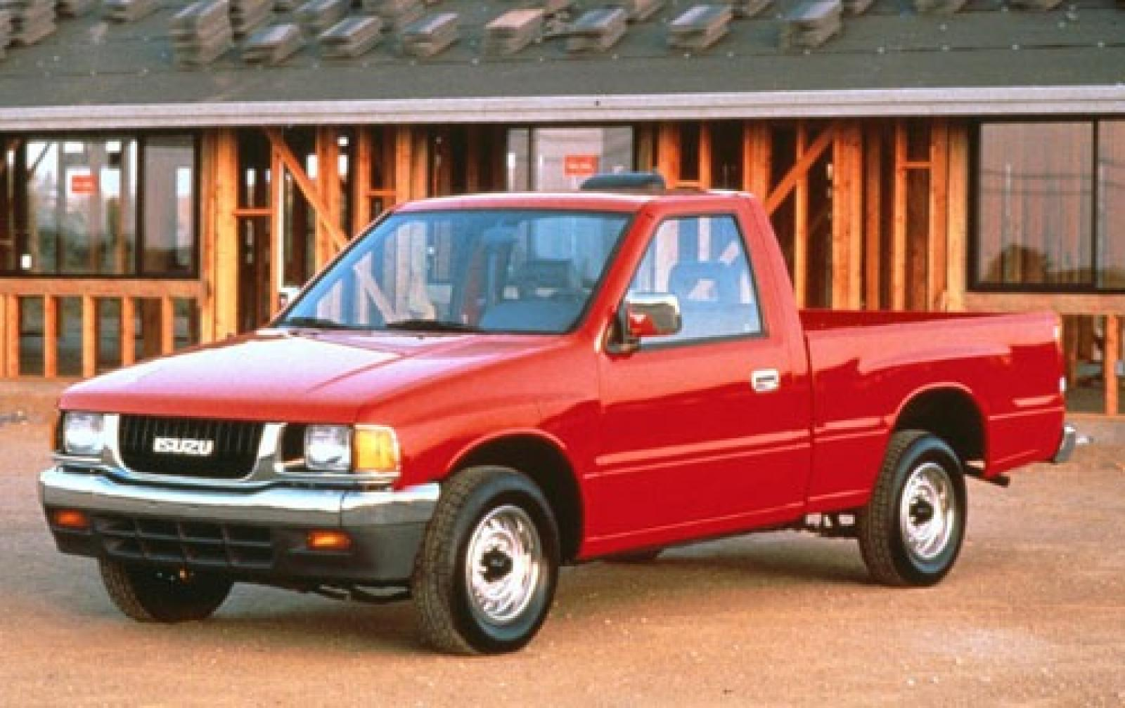1993 isuzu pickup information and photos zombiedrive. Black Bedroom Furniture Sets. Home Design Ideas