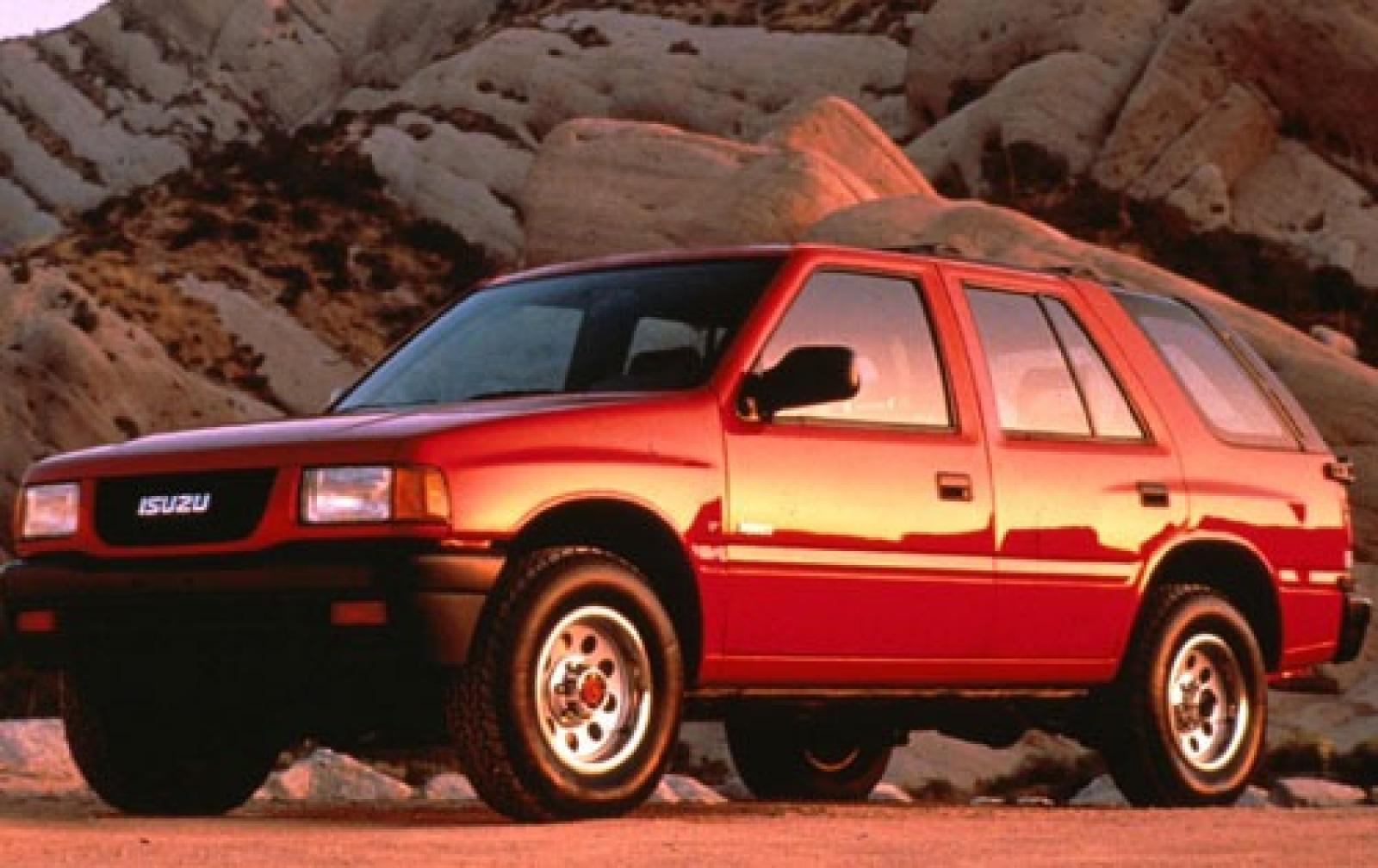 1994 isuzu rodeo information and photos zombiedrive isuzu gallery publicscrutiny Image collections