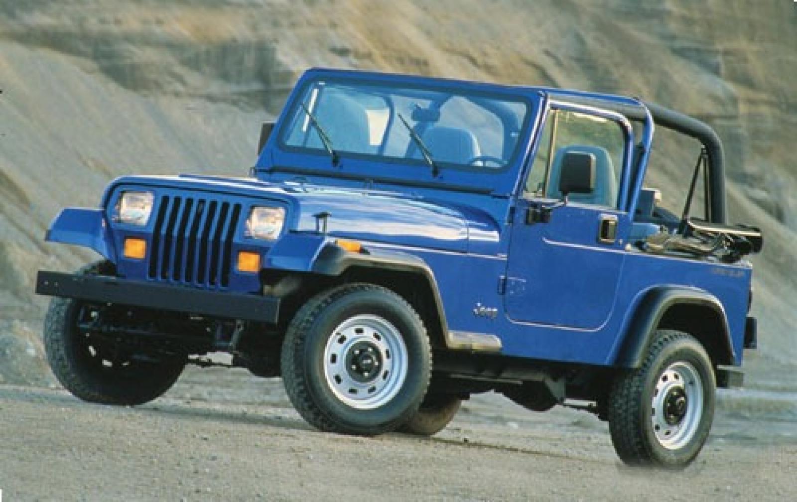 1994 jeep wrangler - information and photos - zombiedrive