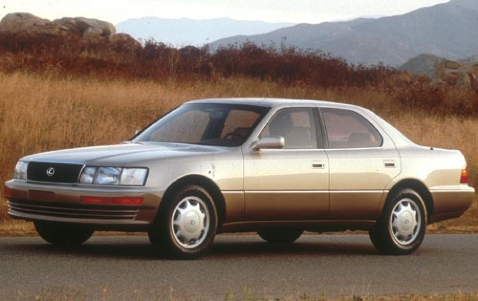1994 lexus ls 400 - information and photos - zombiedrive