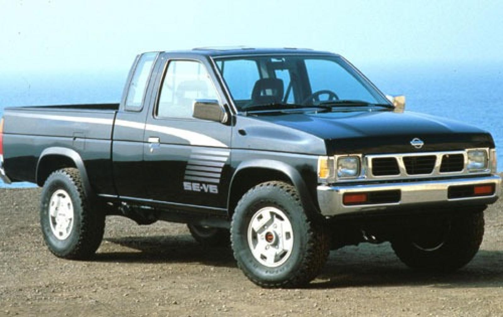 1990 nissan truck information and photos zombiedrive. Black Bedroom Furniture Sets. Home Design Ideas