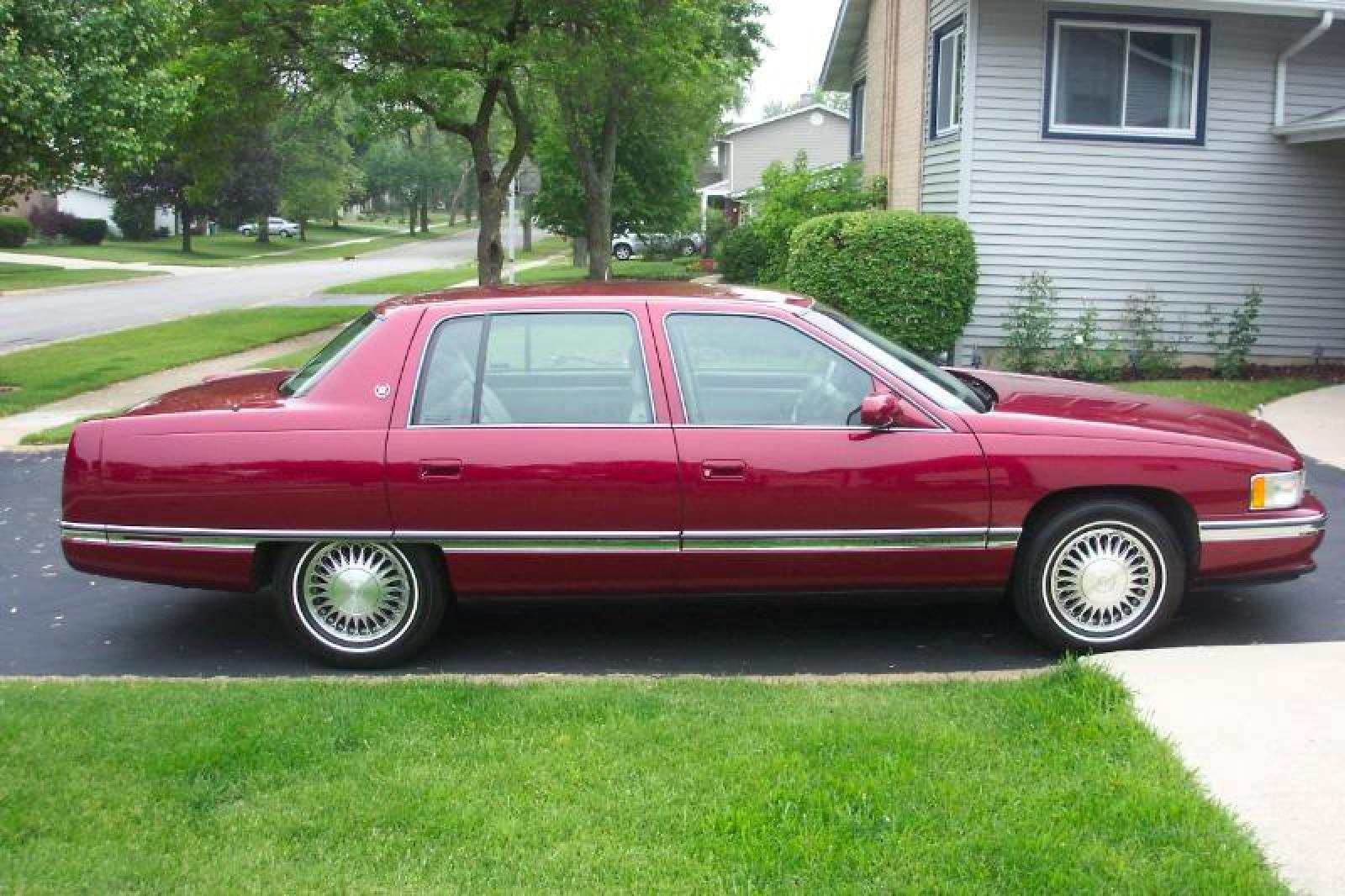 1995 Cadillac Deville Information And Photos Zombiedrive