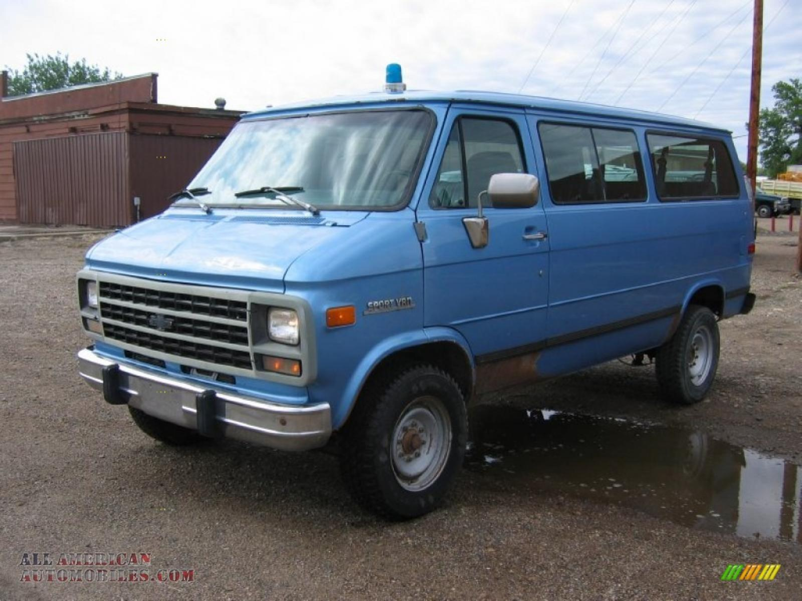 1995 Chevrolet Chevy Van - Information and photos - Zomb Drive