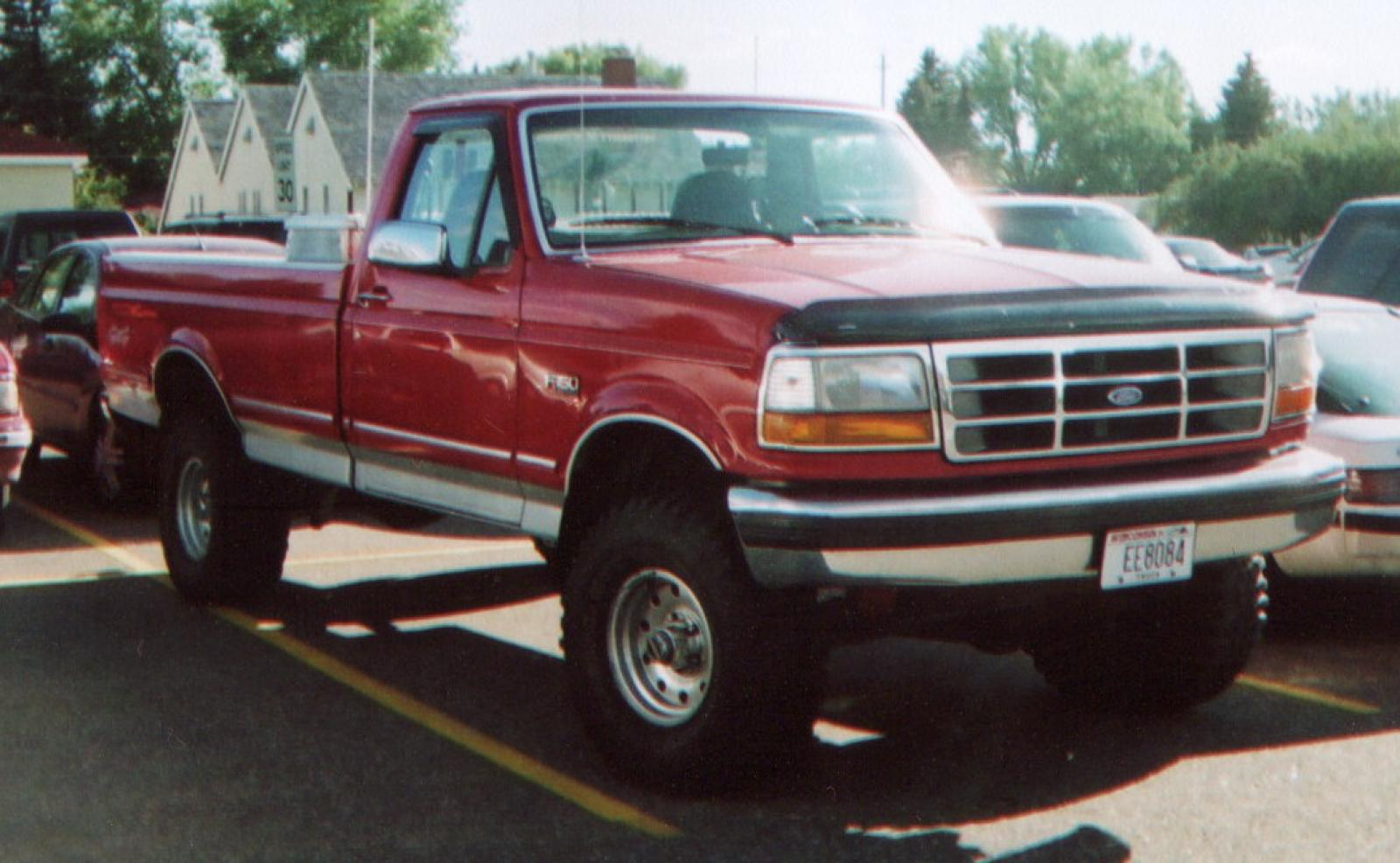 1995 Ford F 150 Information And Photos Zombiedrive