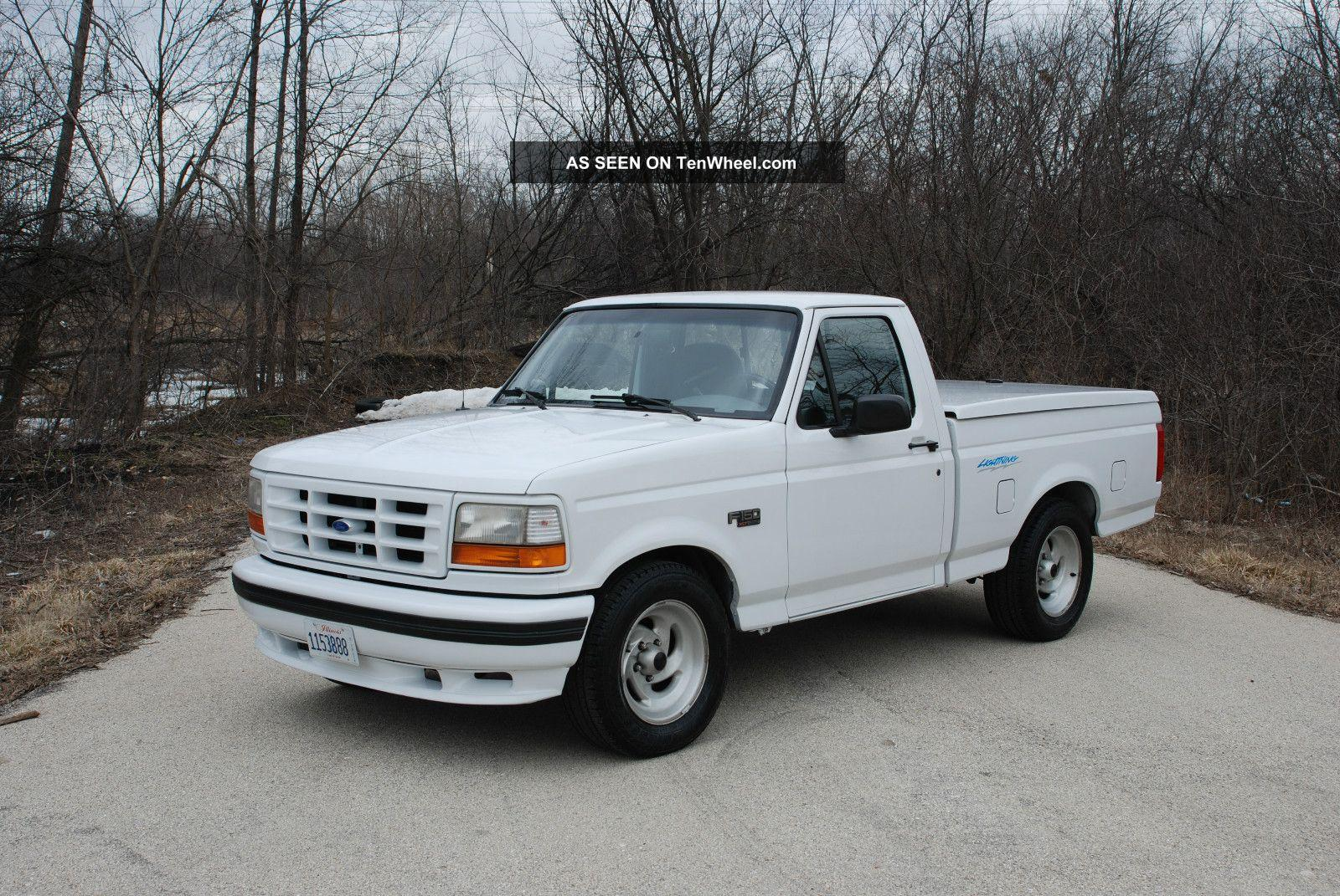 1995 ford f 150 svt lightning information and photos zombiedrive. Black Bedroom Furniture Sets. Home Design Ideas