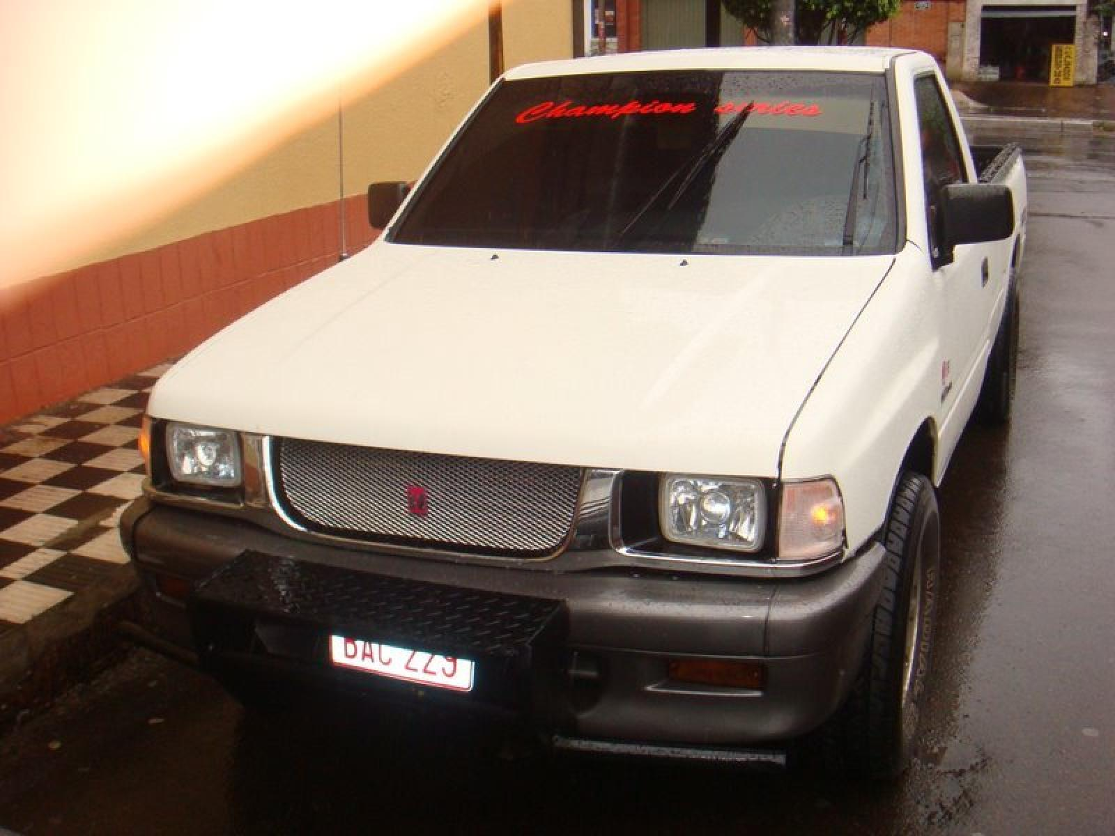 1995 isuzu pickup information and photos zombiedrive