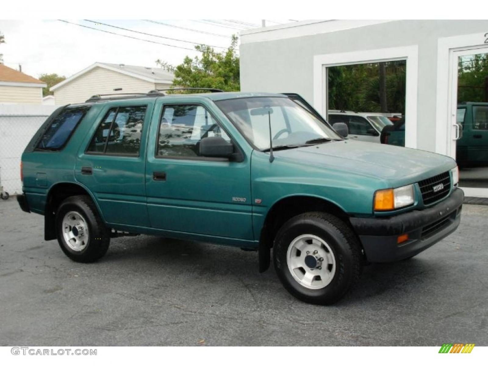 1995 isuzu rodeo information and photos zombiedrive