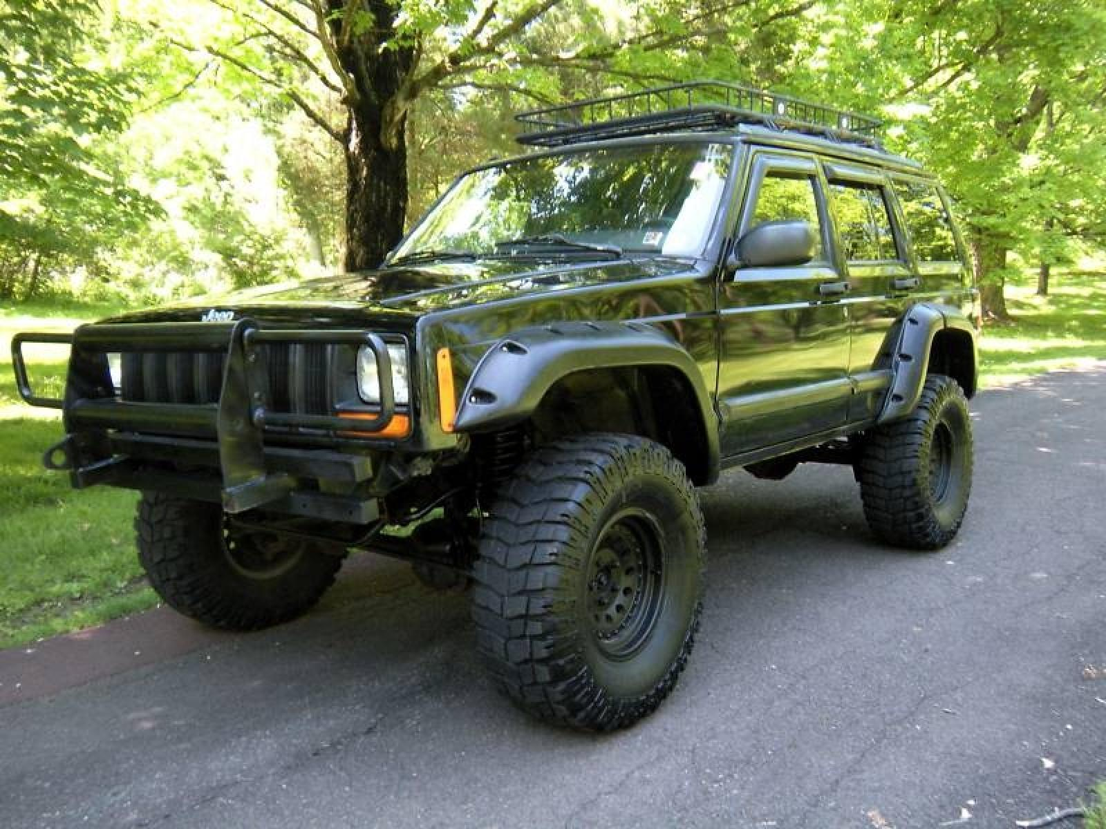 1995 jeep cherokee information and photos zombiedrive. Black Bedroom Furniture Sets. Home Design Ideas