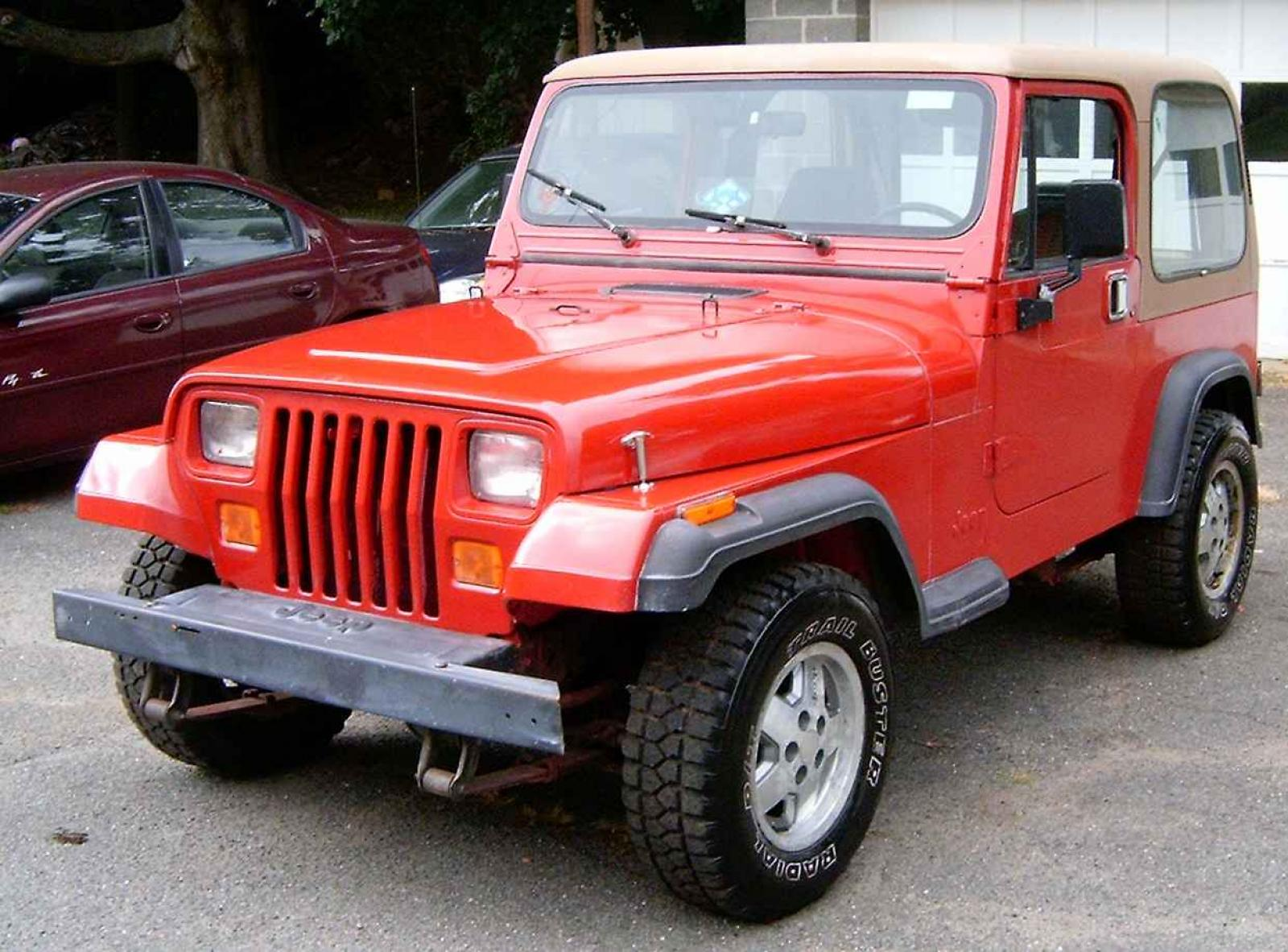 1995 Jeep Wrangler Information And Photos Zomb Drive
