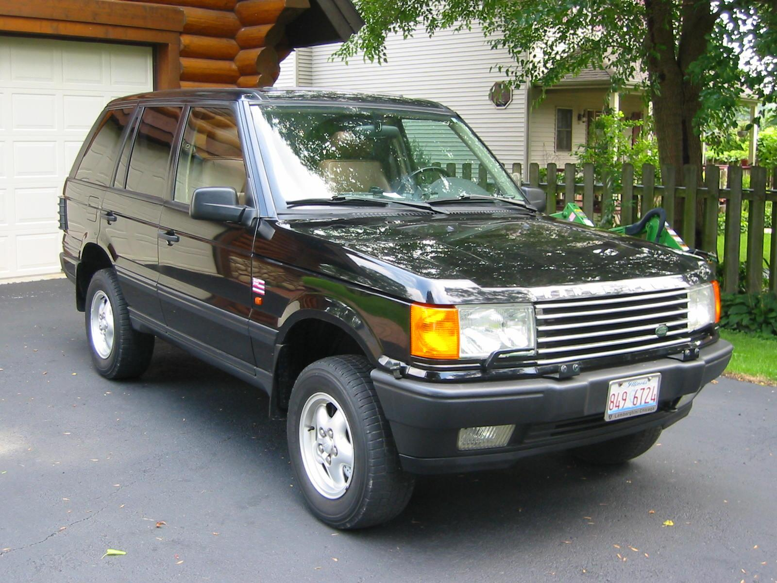 1995 land rover range rover - information and photos - zombiedrive