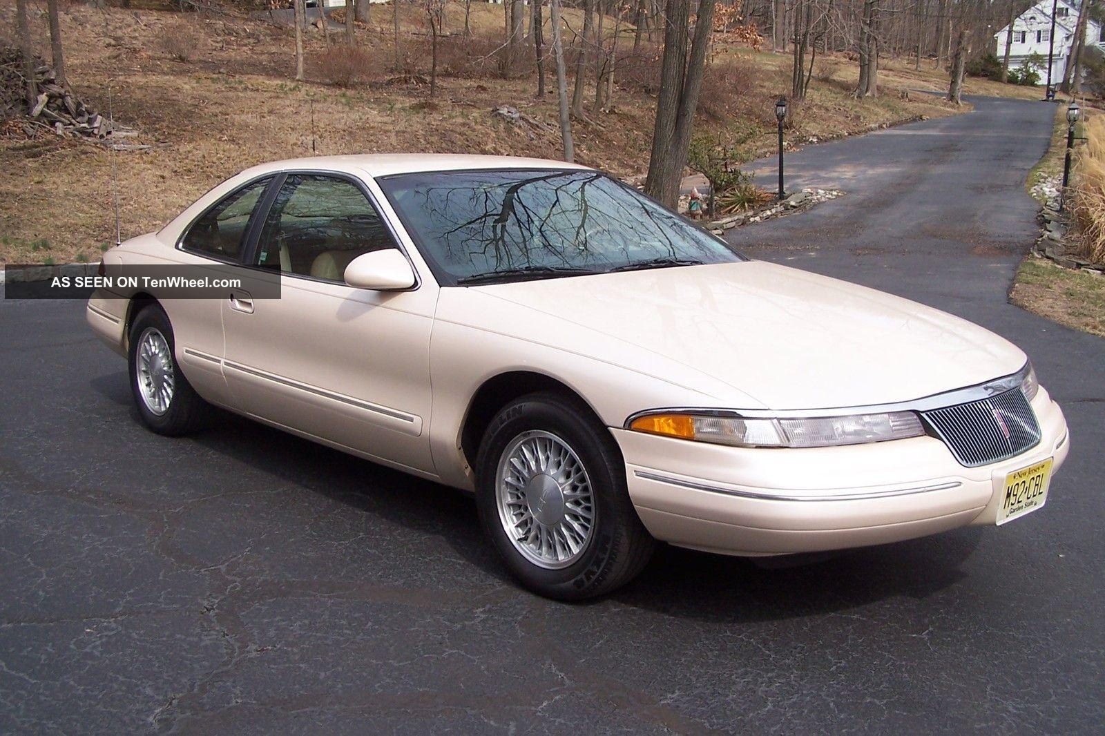 1995 Lincoln Mark Viii Information And Photos Zombiedrive 97 Fuse Box 1 800 1024 1280 1600 Origin