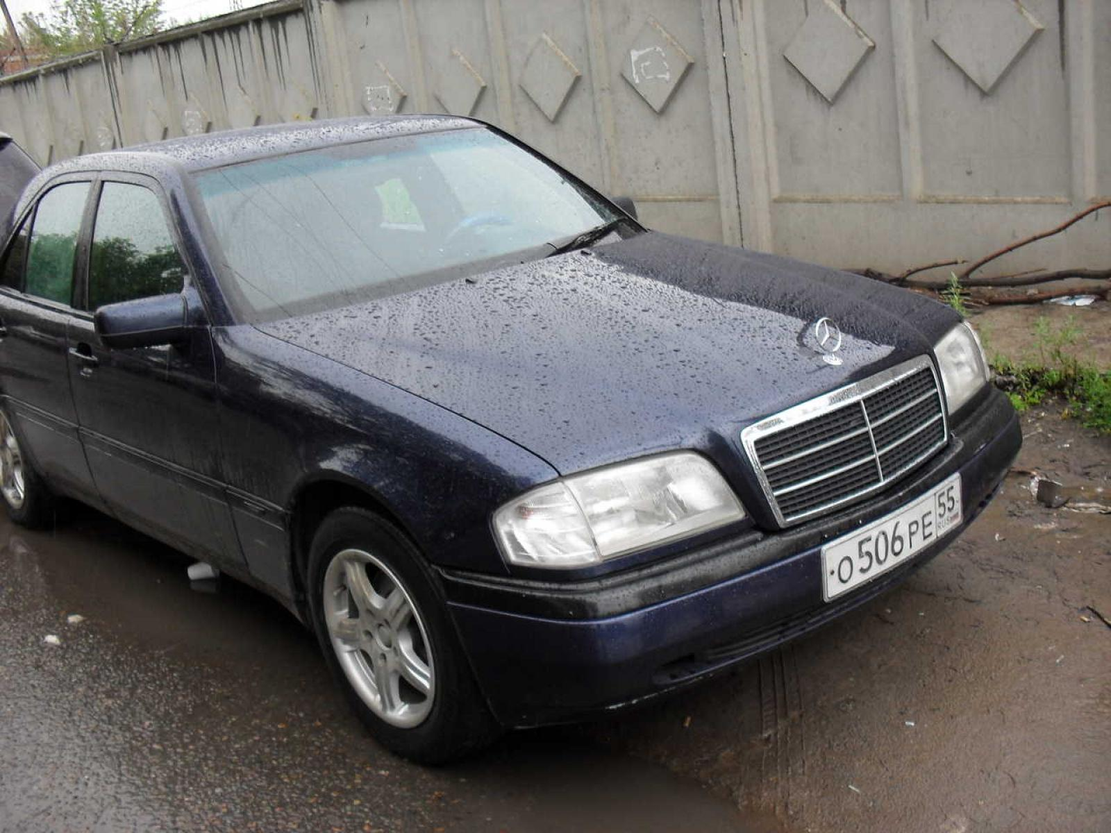 1995 mercedes benz c class information and photos for Mercedes benz 1995