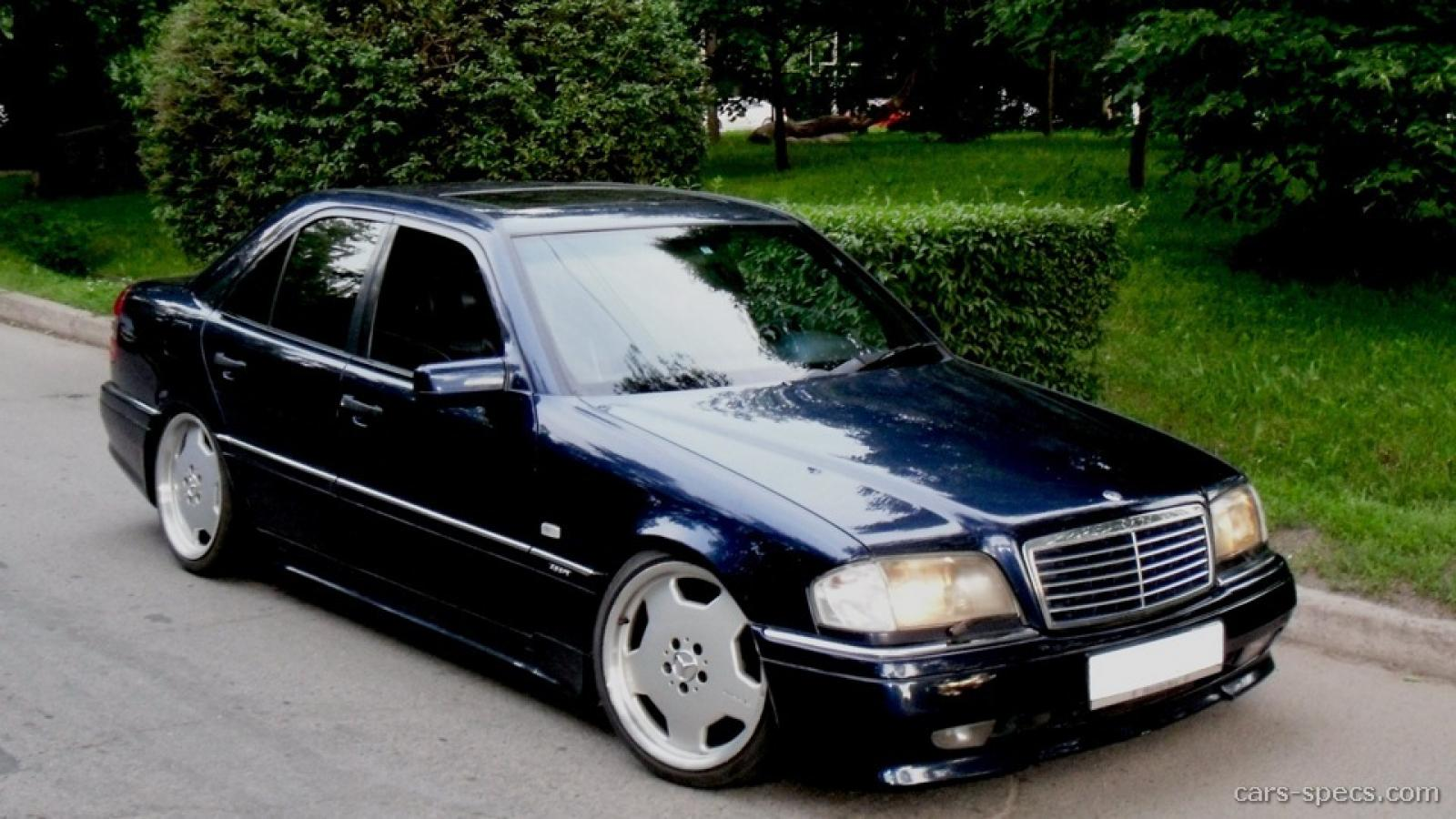 1995 mercedes benz c36 amg information and photos