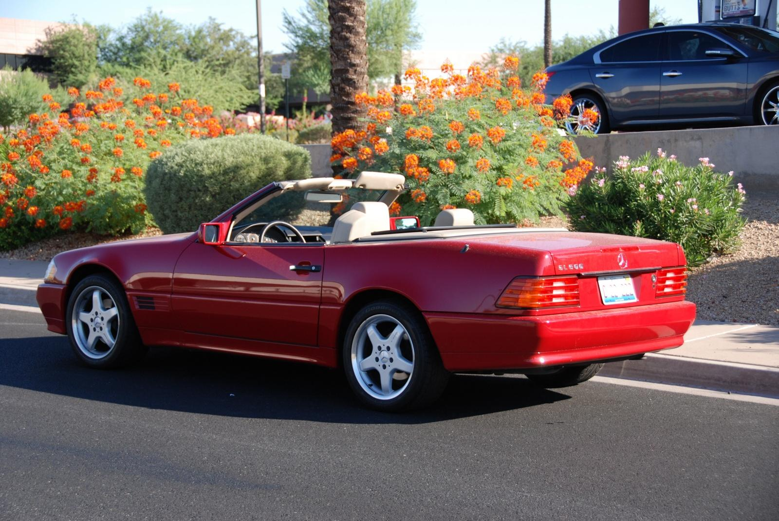 1995 mercedes benz sl class information and photos for Mercedes benz 1995