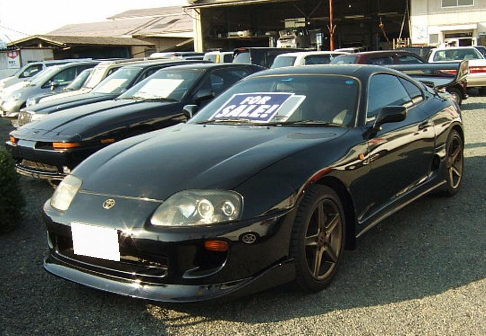 1995 toyota supra information and photos zombiedrive. Black Bedroom Furniture Sets. Home Design Ideas