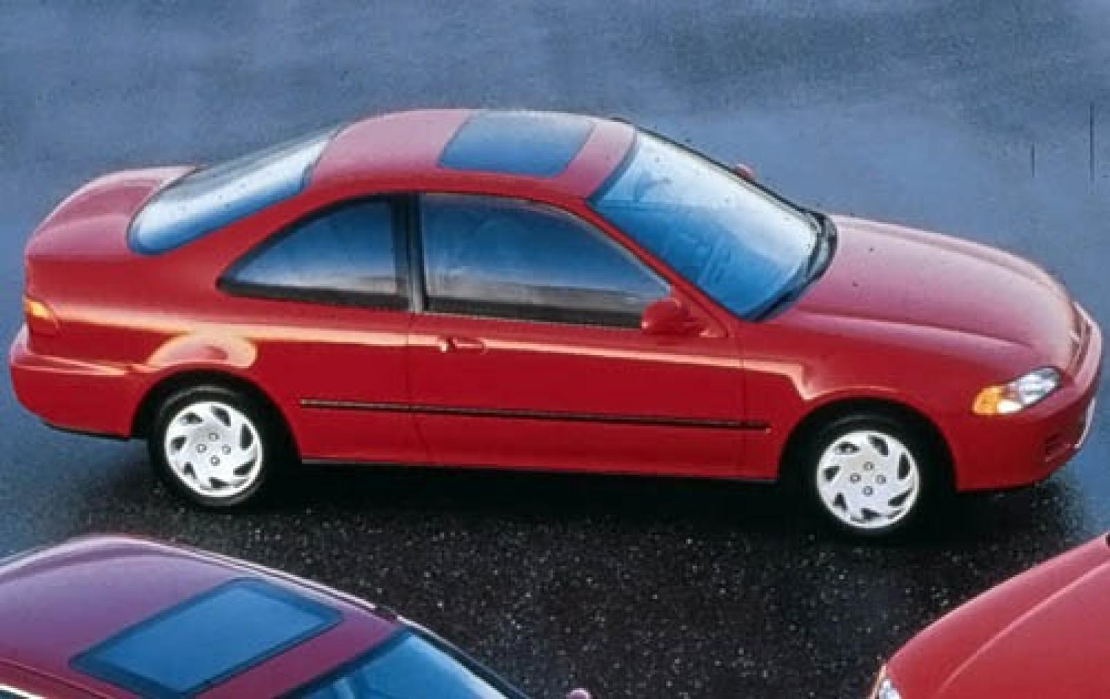 1995 honda civic information and photos zombiedrive for Honda hatchback ex