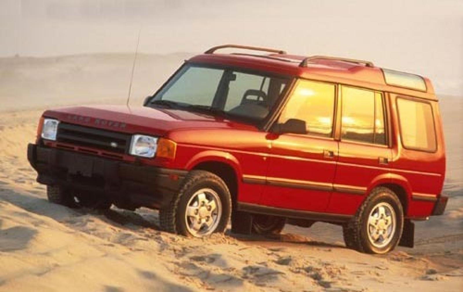1996 land rover discovery information and photos. Black Bedroom Furniture Sets. Home Design Ideas