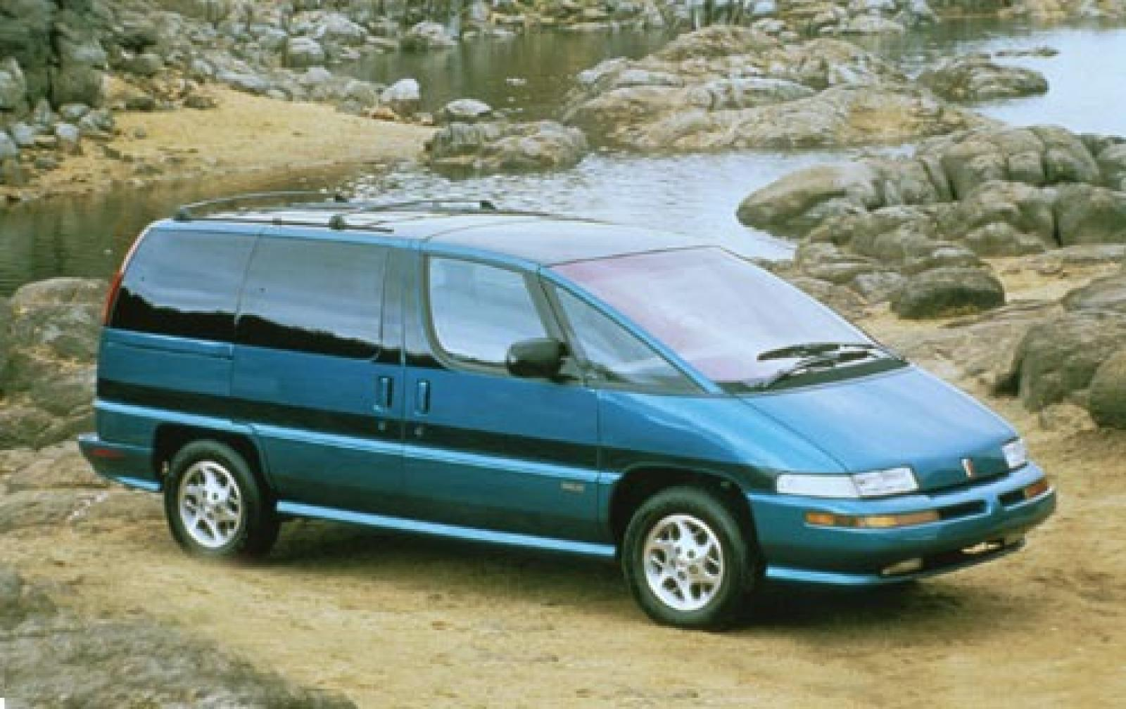 1996 Oldsmobile Silhouette Green 200 Interior And