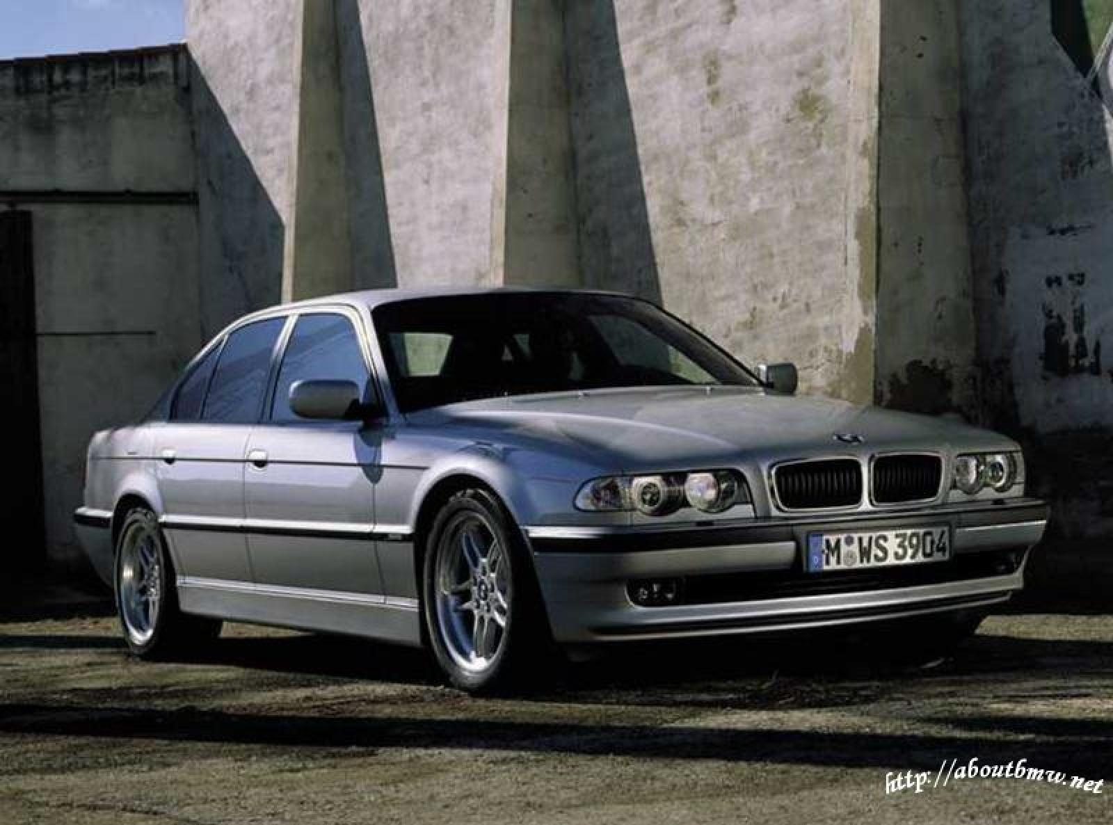 1996 bmw 7 series information and photos zombiedrive. Black Bedroom Furniture Sets. Home Design Ideas