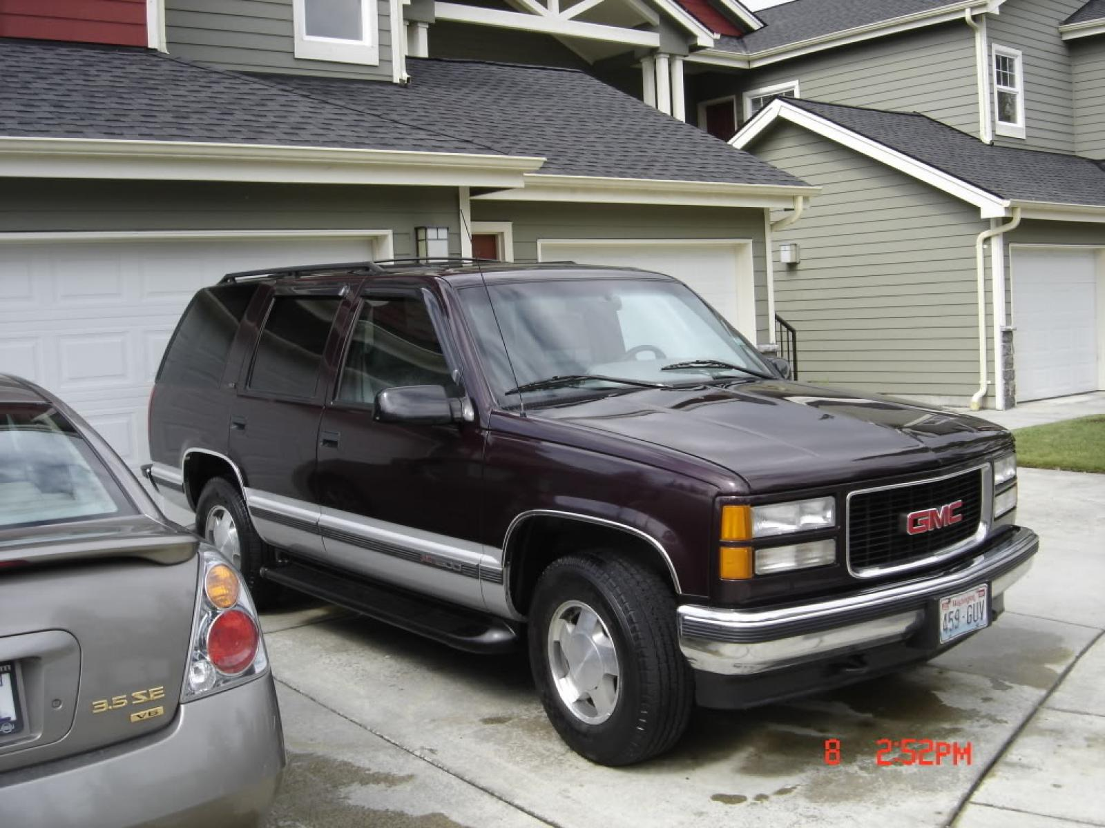 1996 gmc yukon information and photos zombiedrive. Black Bedroom Furniture Sets. Home Design Ideas