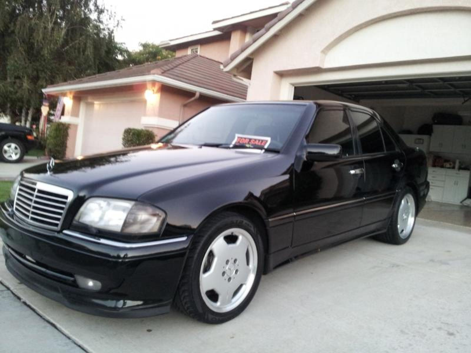 1996 mercedes benz c36 amg information and photos