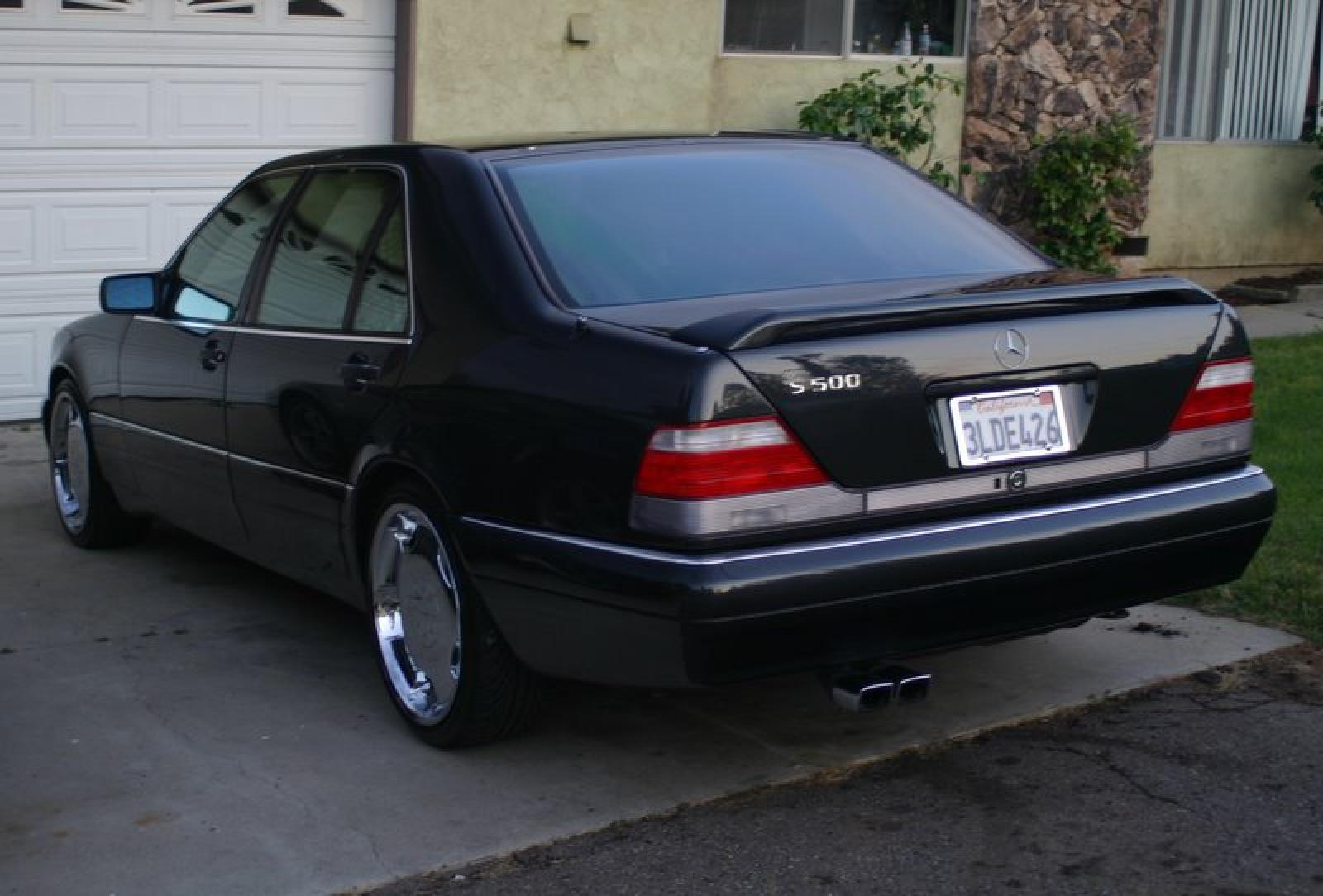 Mercedes Benz S Class on 95 mercedes s500