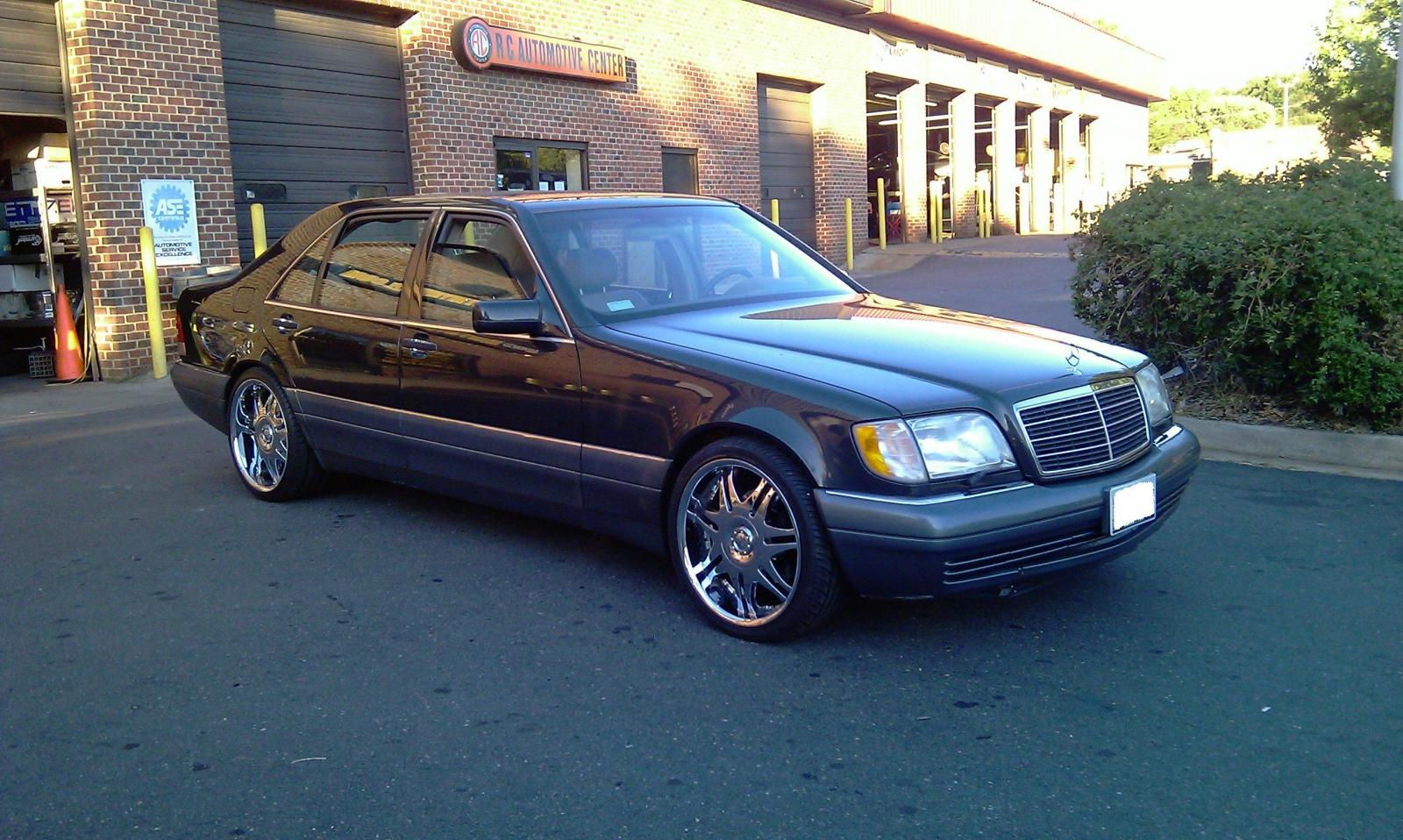 1996 mercedes benz s class information and photos for Facts about mercedes benz