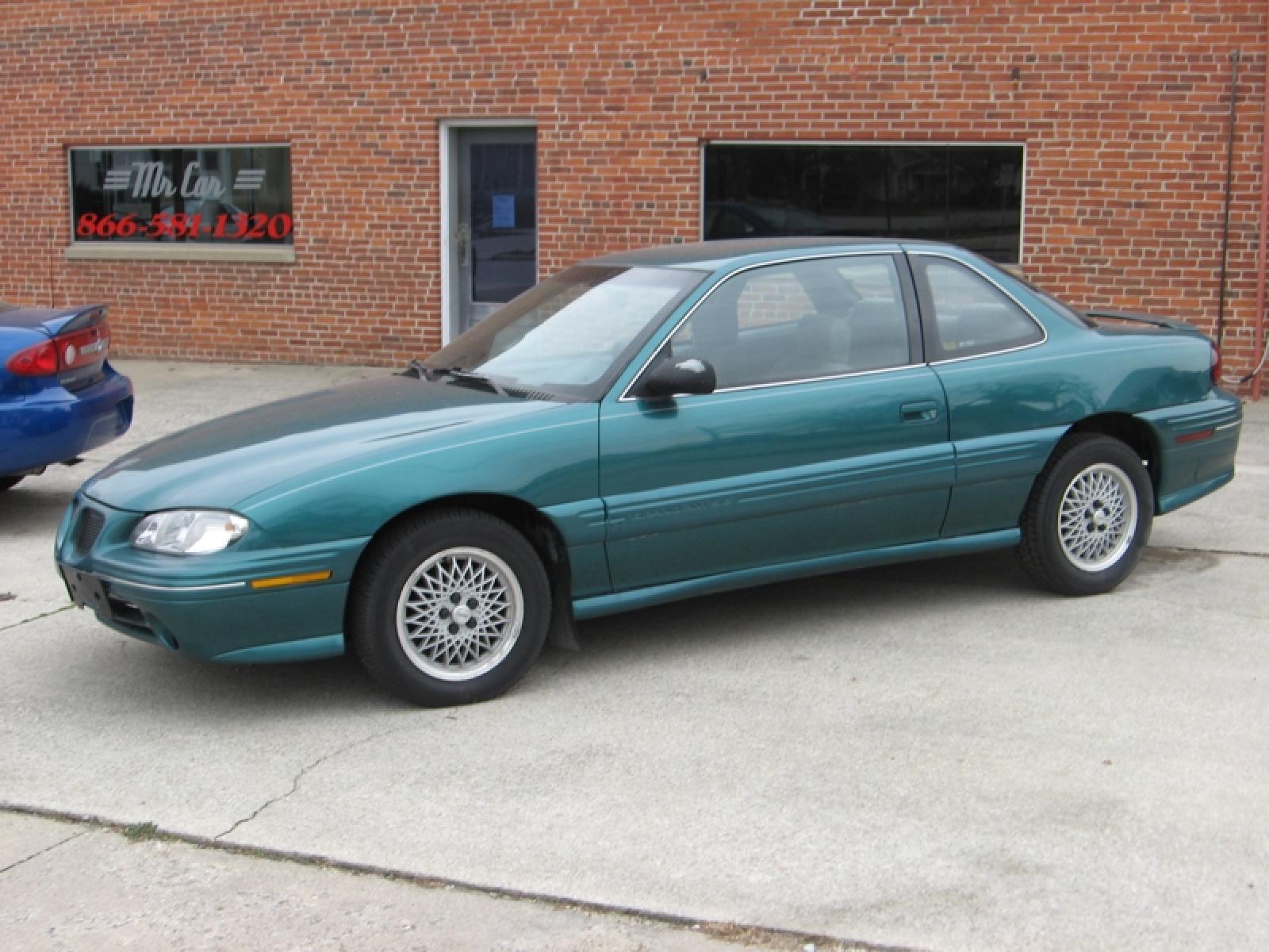 1996 grand am green