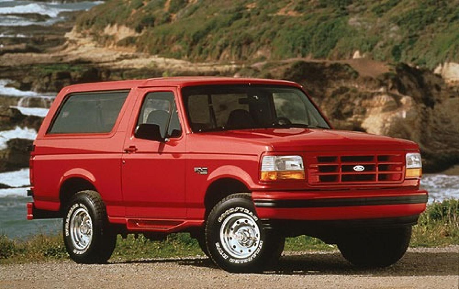 1996 Ford Bronco Information And Photos Zomb Drive